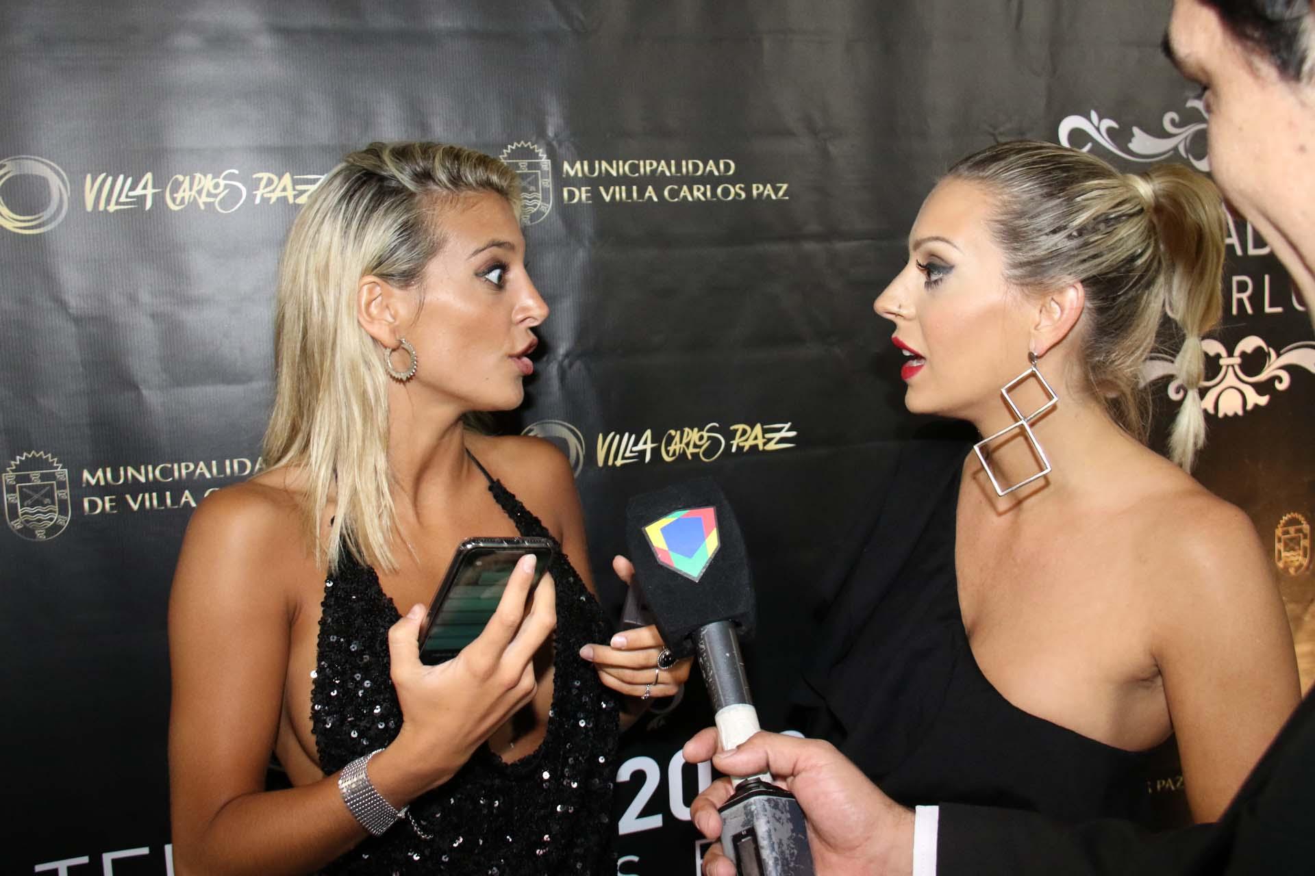 Sol Pérez y Noelia Marzol se pelearon durante la presentación