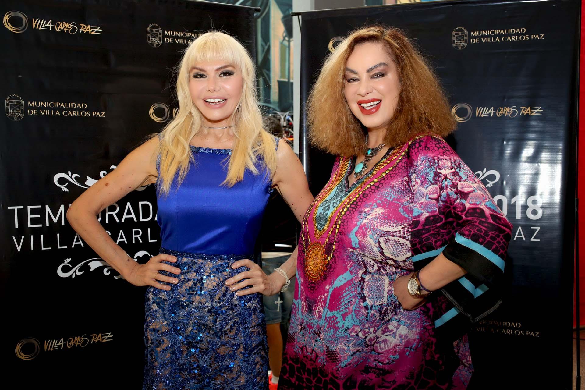 Adriana Aguirre y Beatriz Salomón