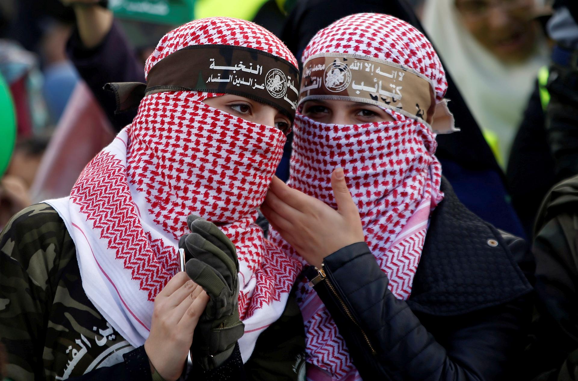 El grupo surgió en 1987, durante la primera intifada (Reuters)