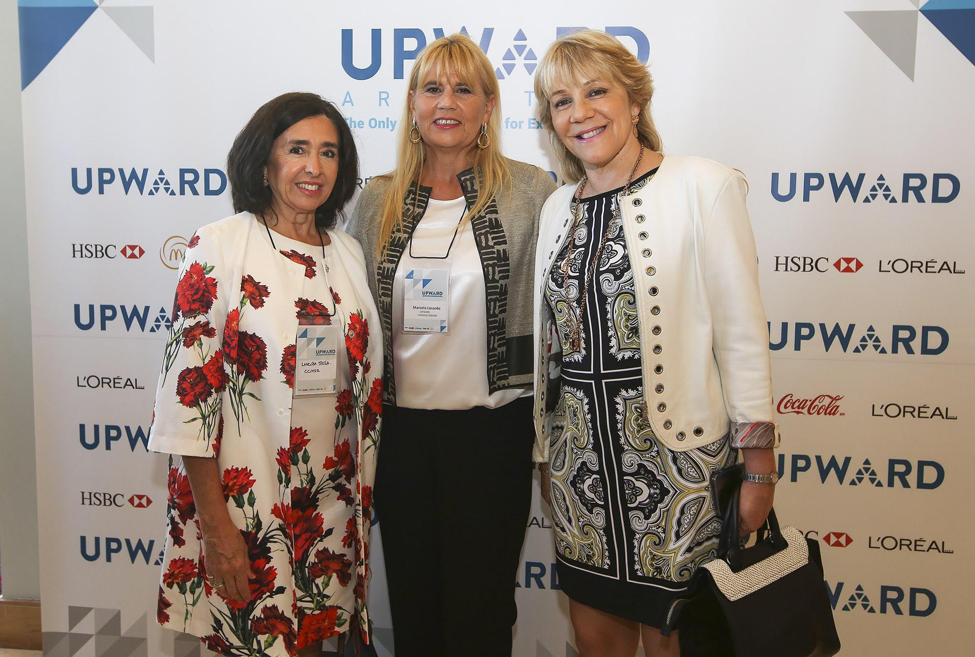 Stella Lancuba , Marcela Losardo y Alejandra Rafuls