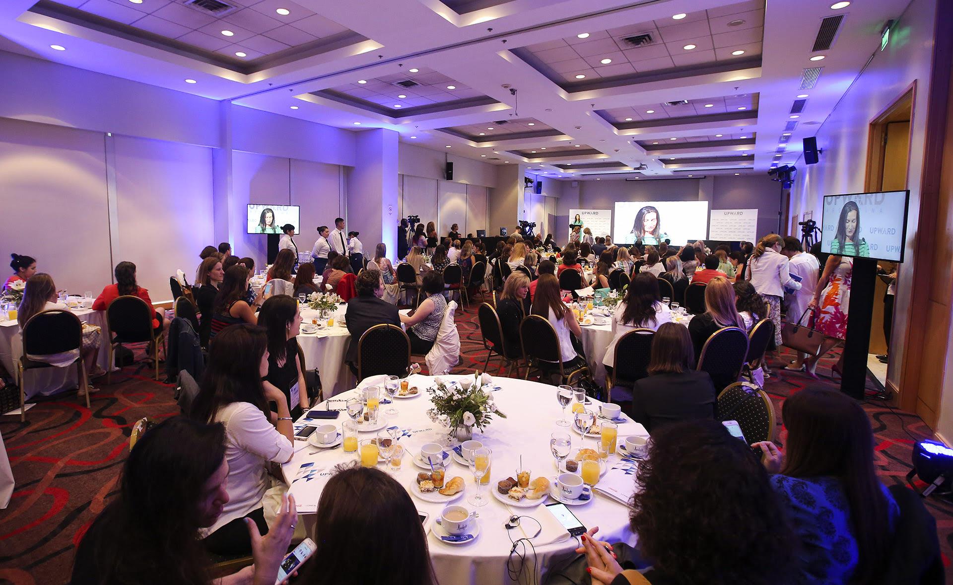 La sala Ceibo de la Rural fue el escenario perfecto para dar impulso a la nueva inciativa de Upward Argentina
