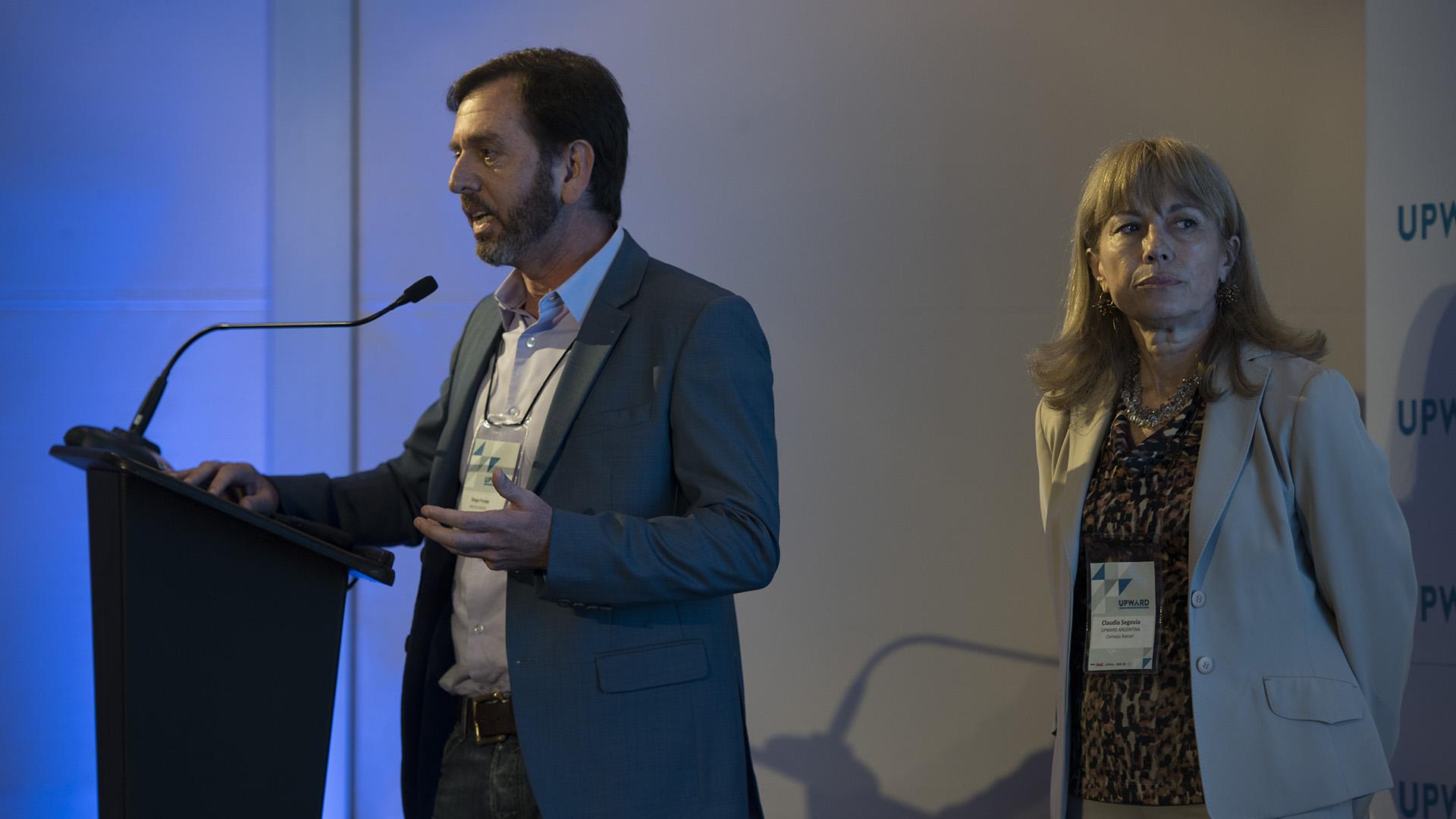Diego Pando, fundador de Digital House presentó una nueva alianza que dará comienzo a las acciones del eje de Innovación y Tecnología que UPWARD Women Argentina estará realizando durante el 2018