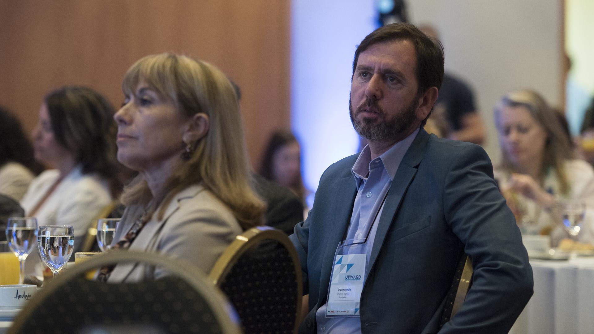 Diego Pando uno de los oradores del evento de cierre de Upward Argentina