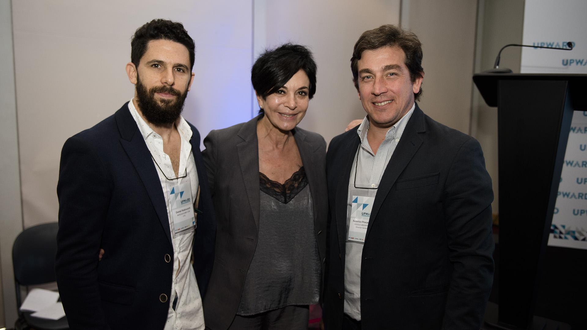 Daniel Rabinovich, Mónica Gutiérrez, Federico Procaccini