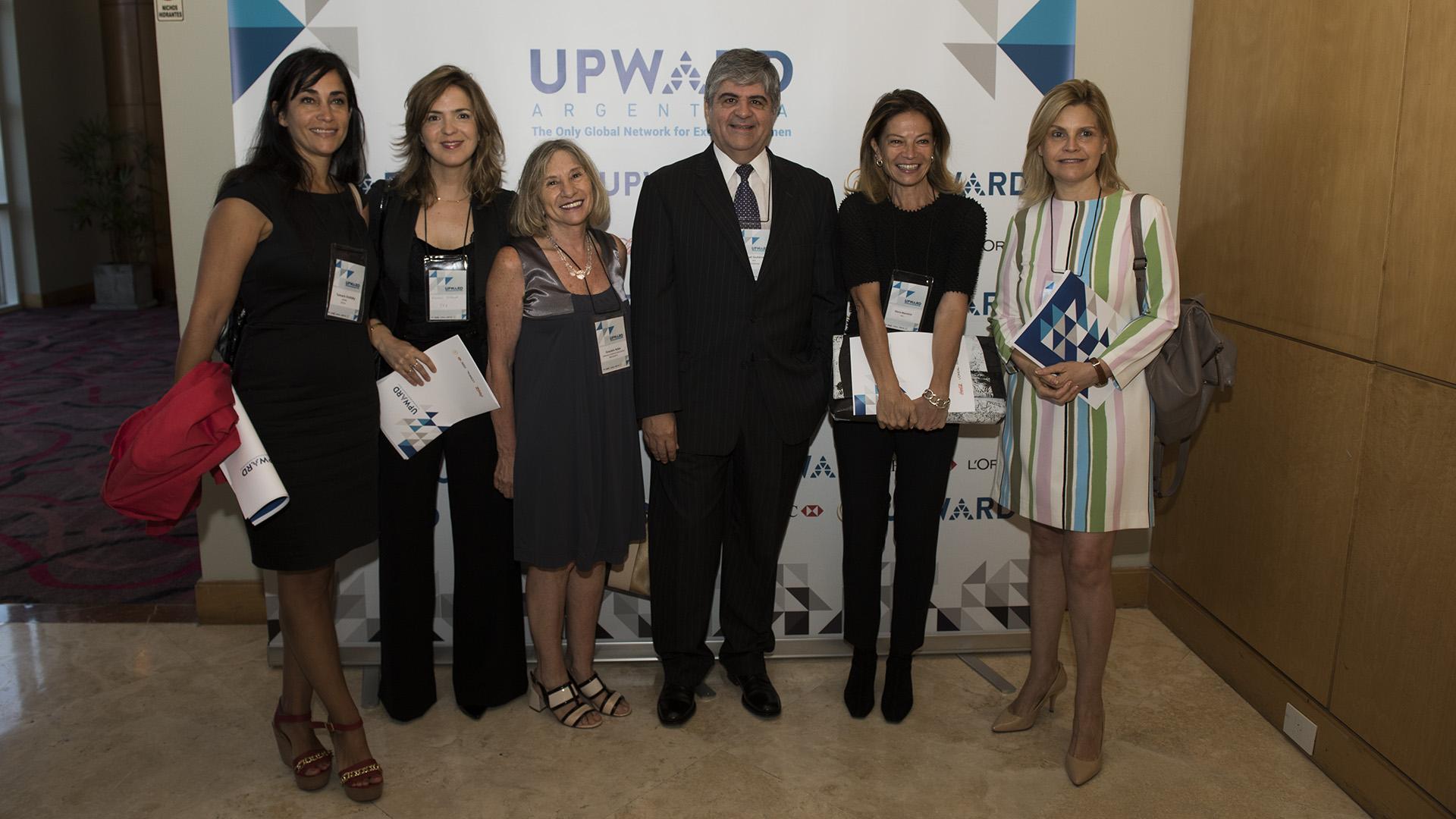 Anabel Perrone Directora Ejectutiva Fundación YPF, Graciela Adán, Miguel Gutiérrez, ElenaMorettini, Gabriela Terminielle
