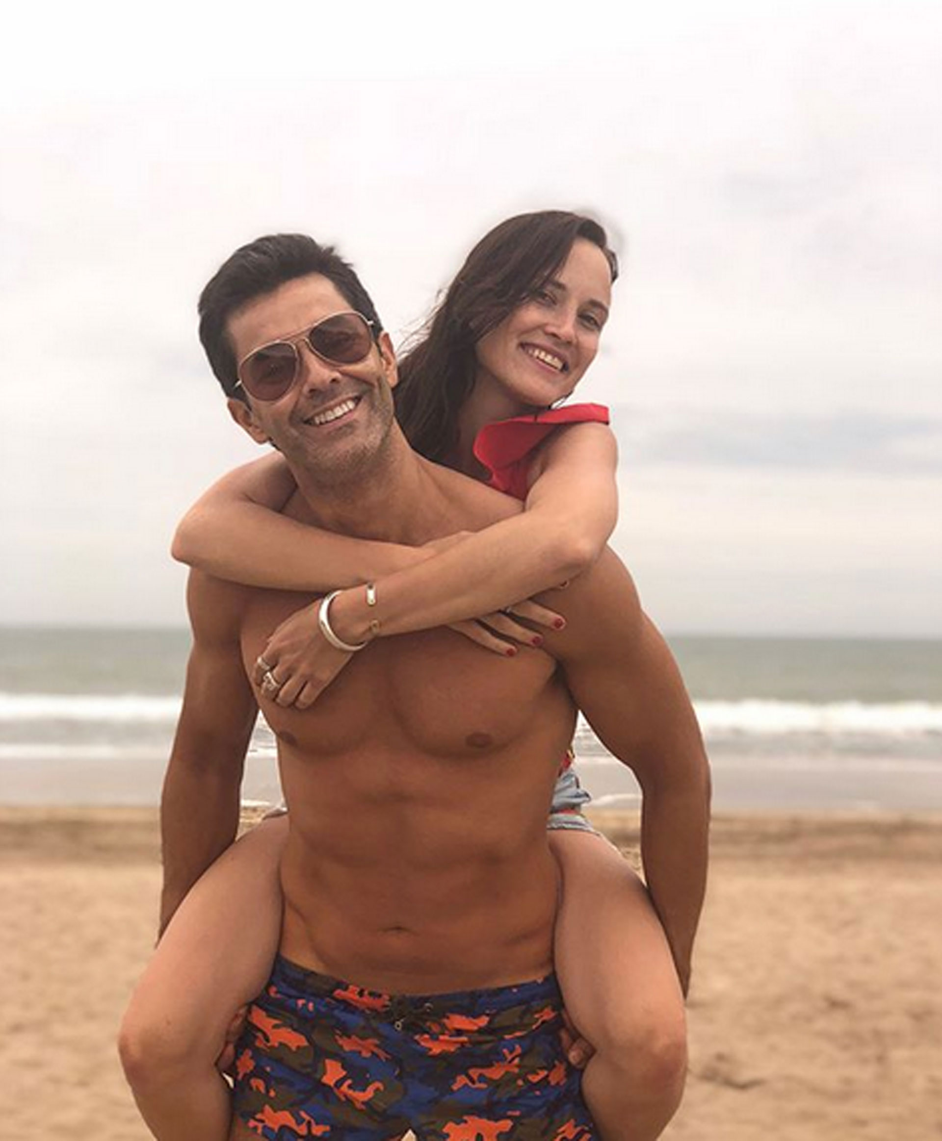 Mariano y Camila. Foto: Instagram @marianom78