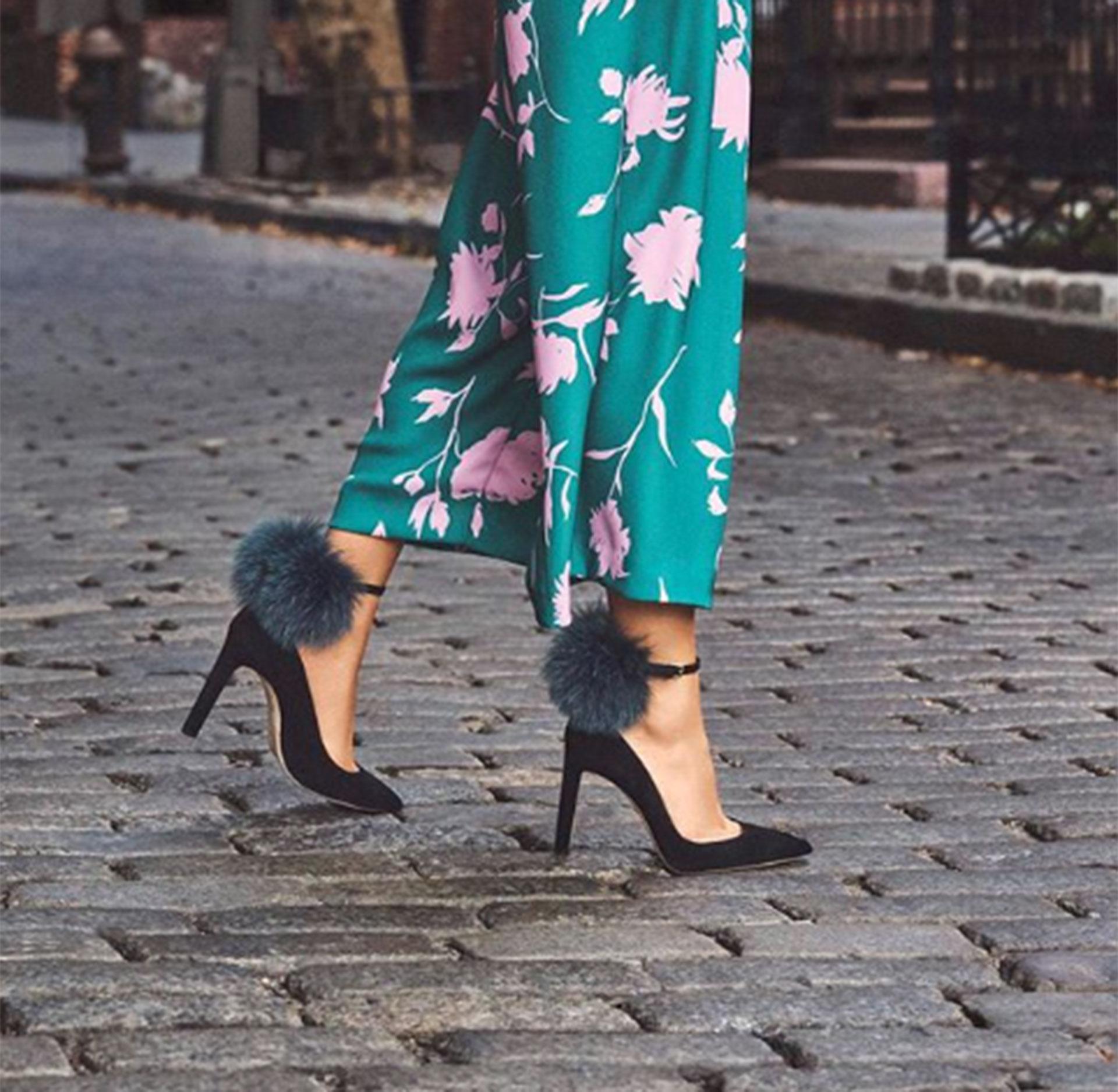 Pieles hasta en los zapatos, algunas firmas abusan de este género natural