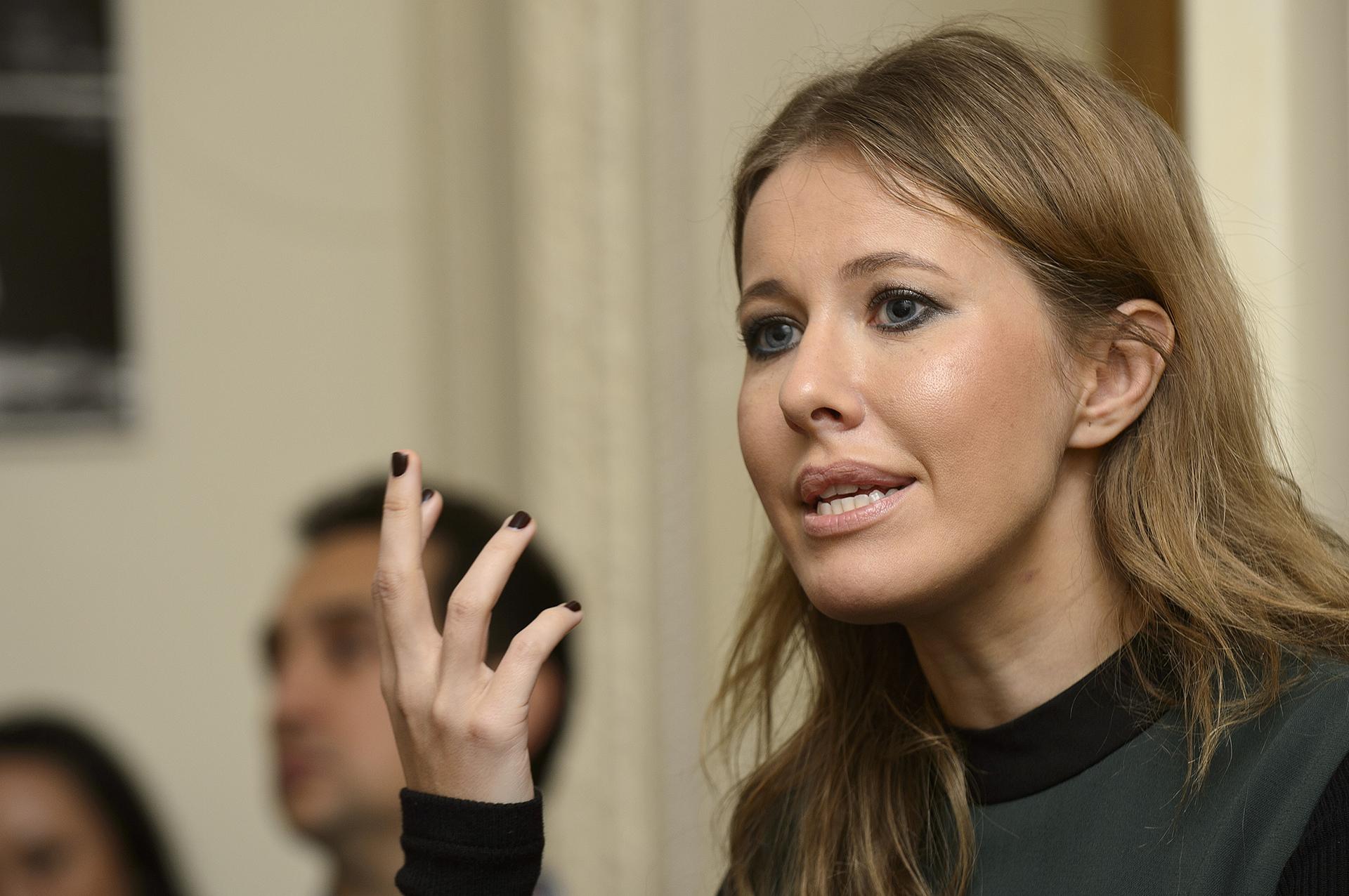 Se rumorea que Putin es el padrino de Ksenia Sobchak, hija de su mentor y ex jefe Anatoly Sobchak (Ben Pruchnie/Getty Images)
