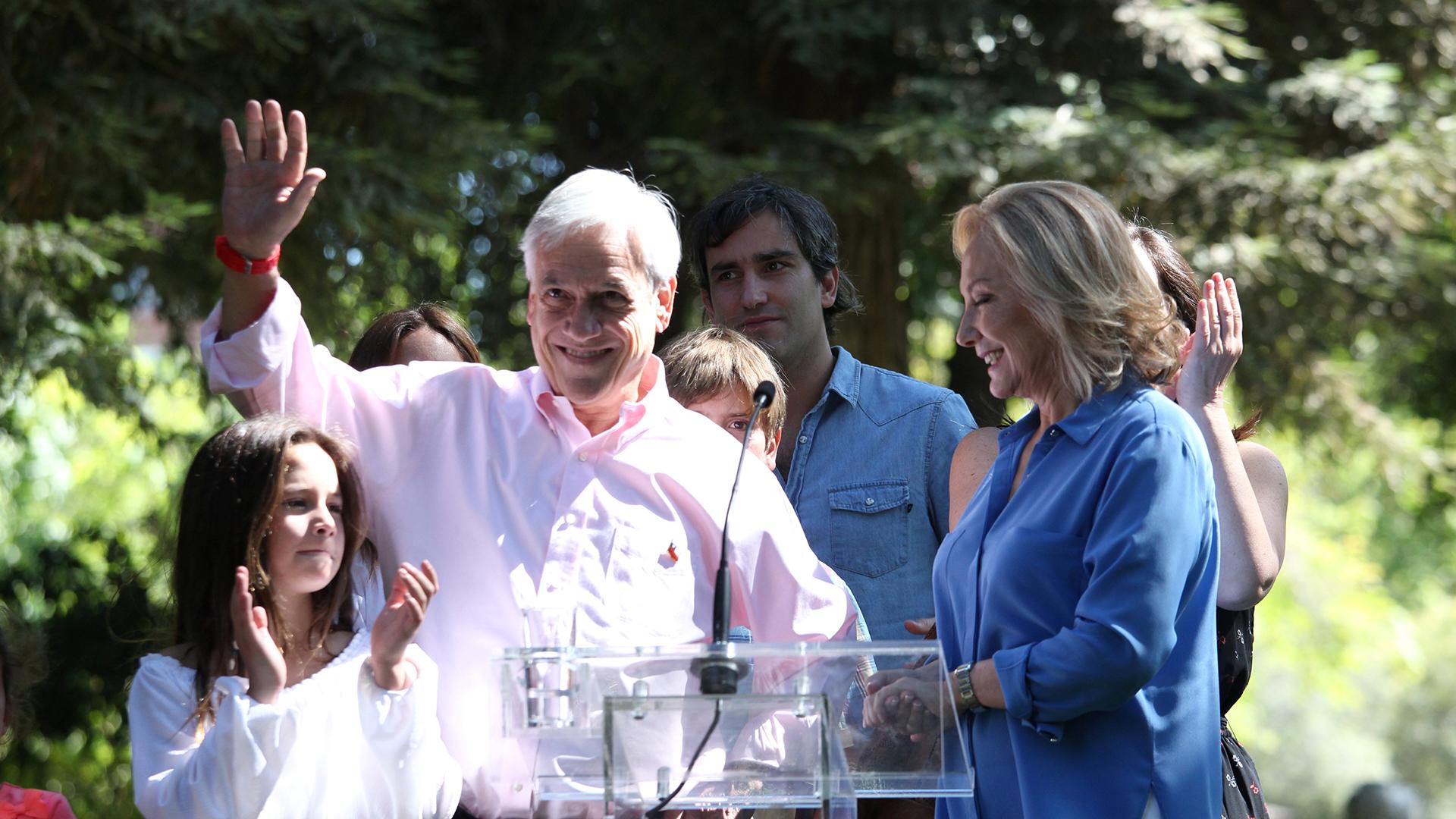 Piñera se mostró confiado de cara a la segunda vuelta (REUTERS)