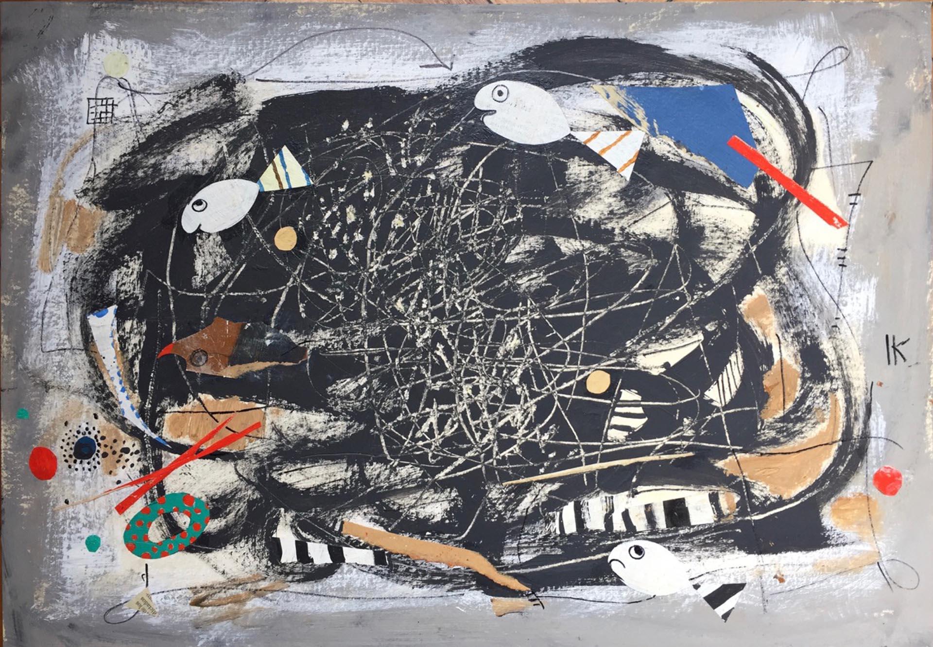 La mayoría de las obras son en su gran mayoría, papeles íntimos que permiten un acercamiento al desarrollo creativo de Kihlen