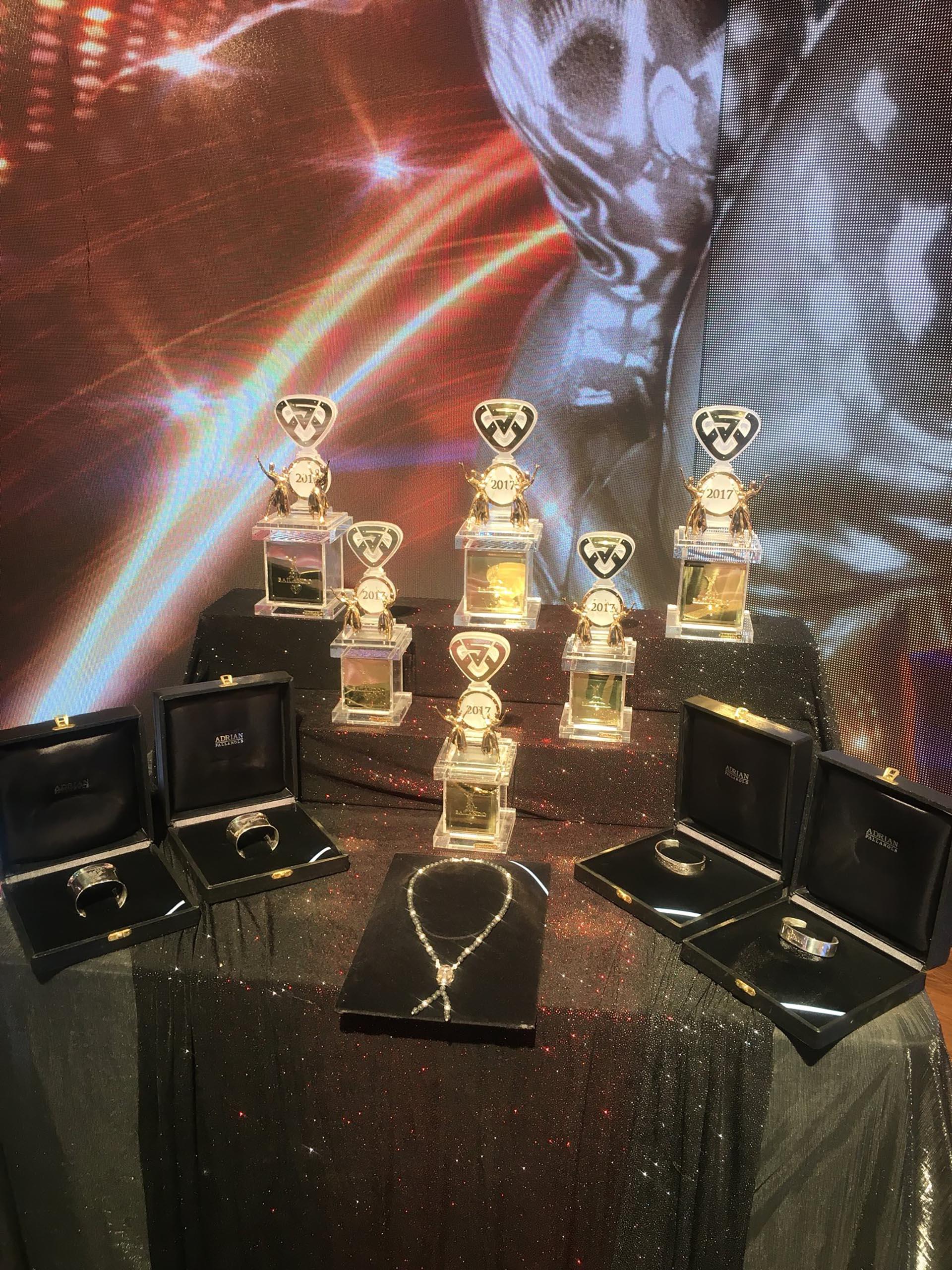 Los trofeos del Bailando 2017