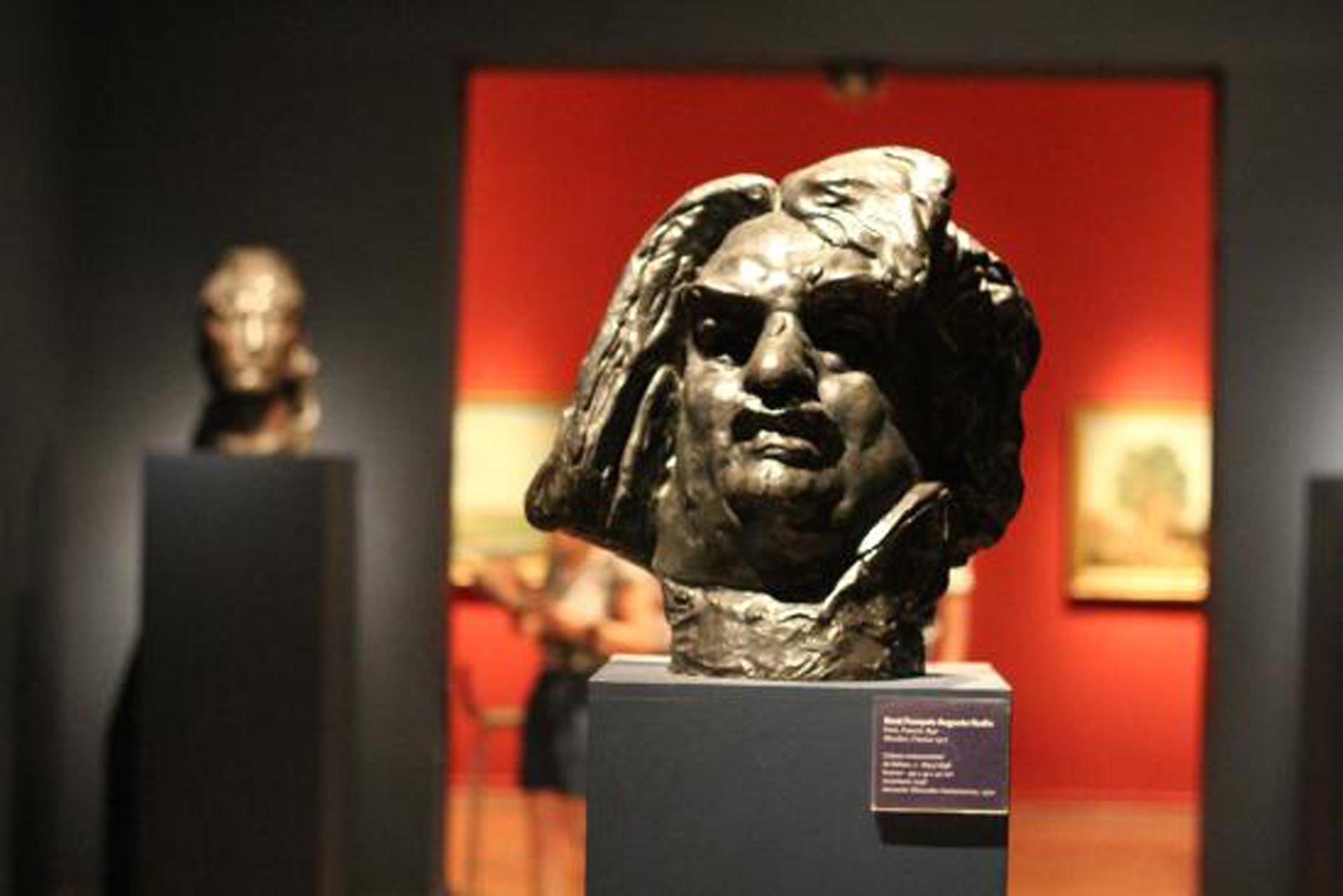La muestra reúne 19 esculturas y tres dibujos de Auguste Rodin