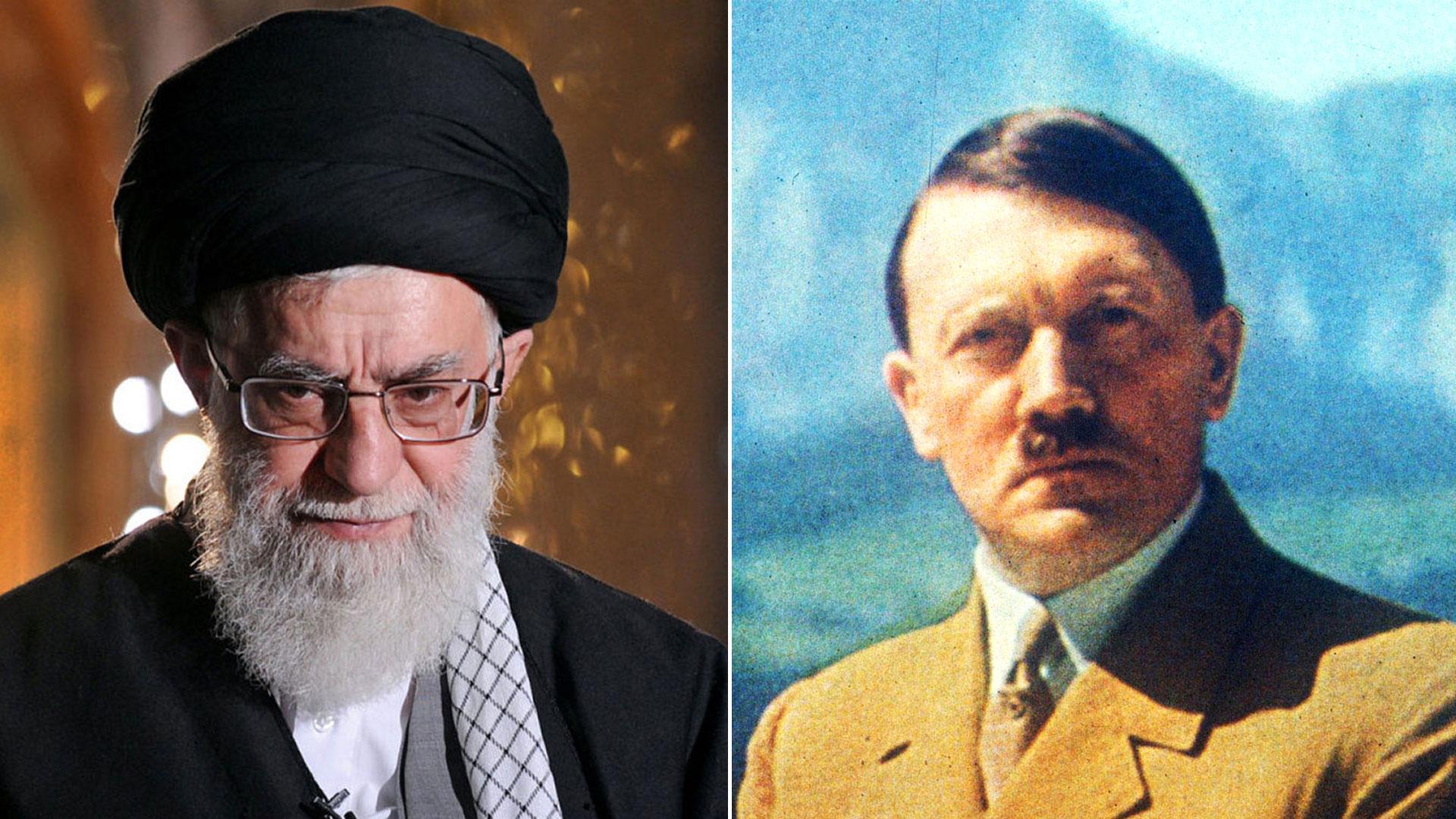 """El líder supremo iraní Ali Khamenei y el führer nazi Adolf Hitler, comparables en """"búsqueda de expandirse"""", según el príncipe heredero saudita"""