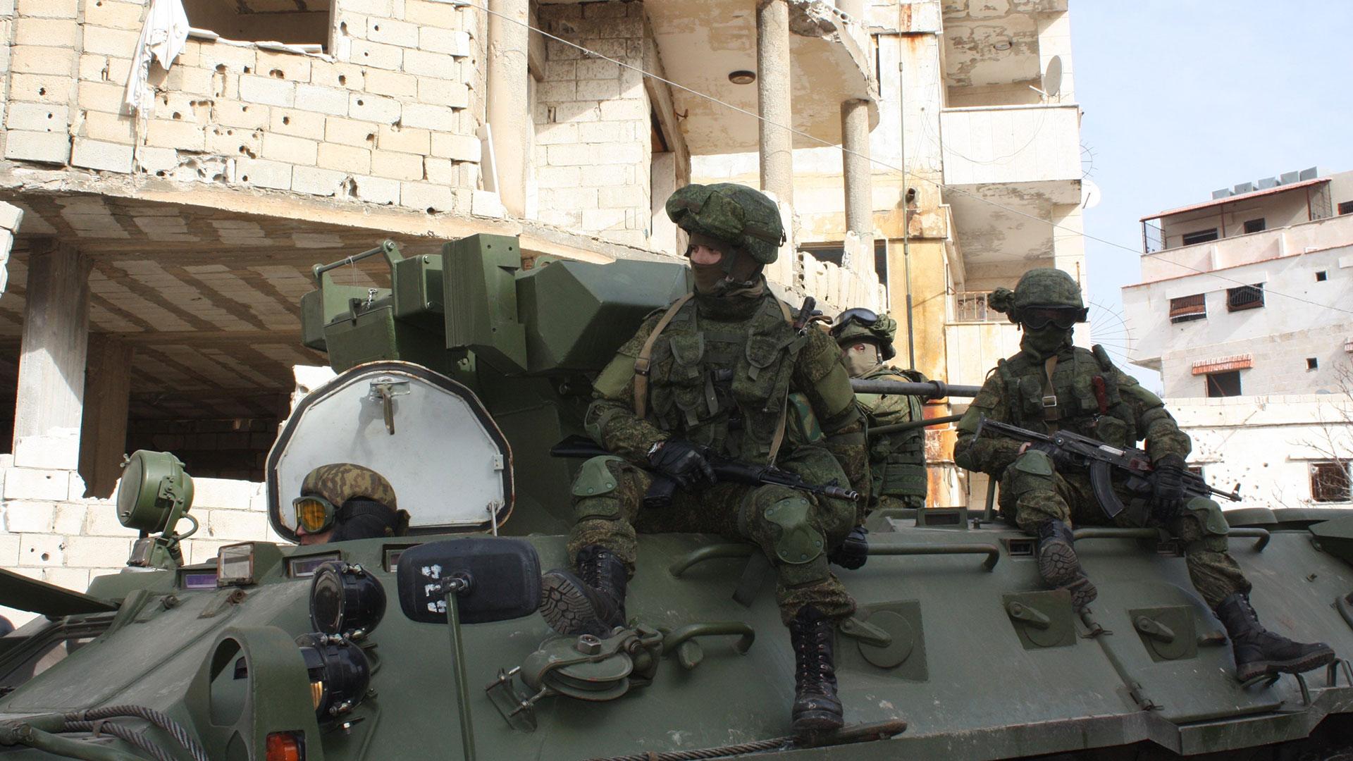 La intervención militar rusa comenzó en 2015, pero también se han sumado empresas privadas