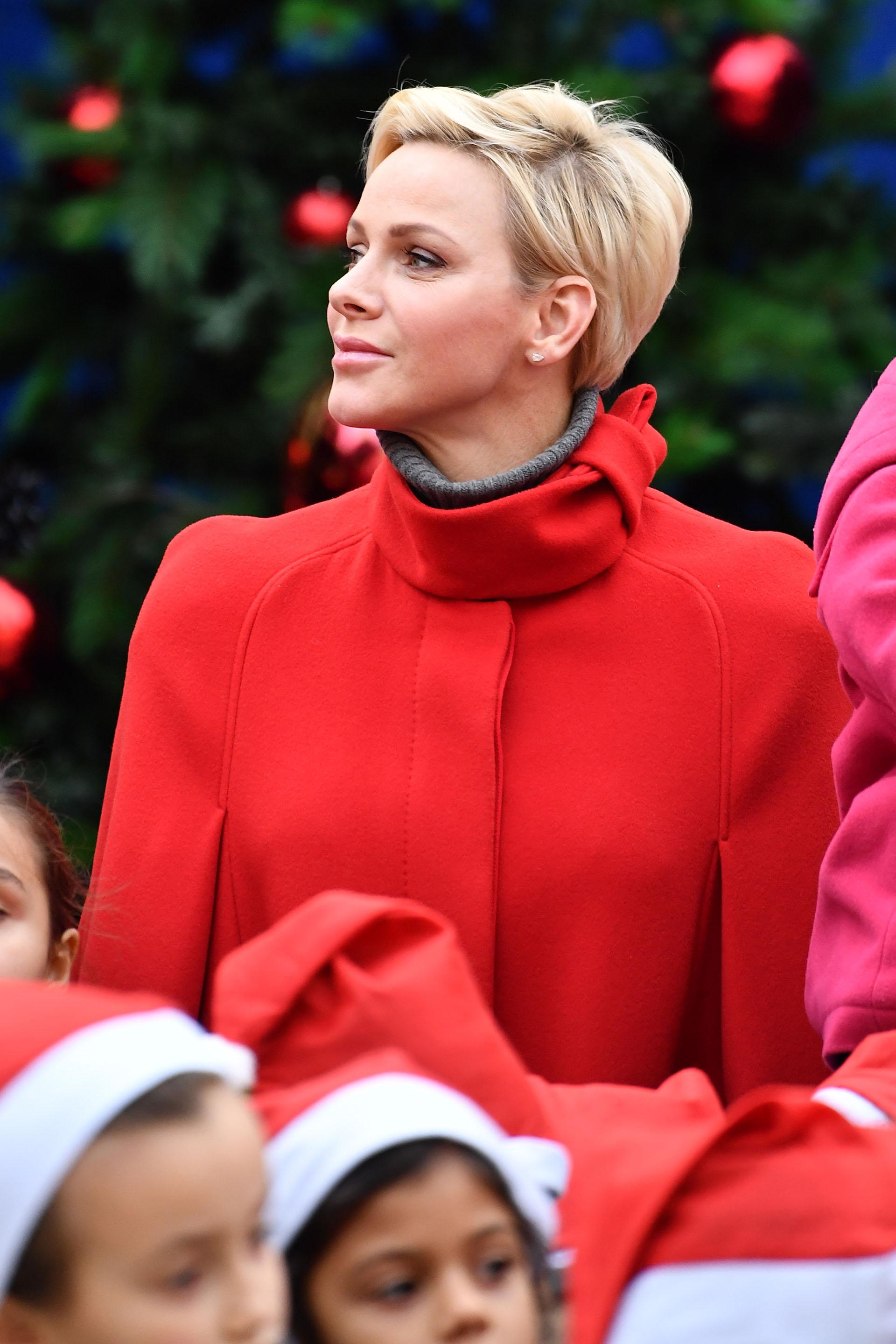 Esta vez, los hijos de Charlene y Alberto de Mónaco -Jacques y Gabriella- no asistieron a este tradicional evento