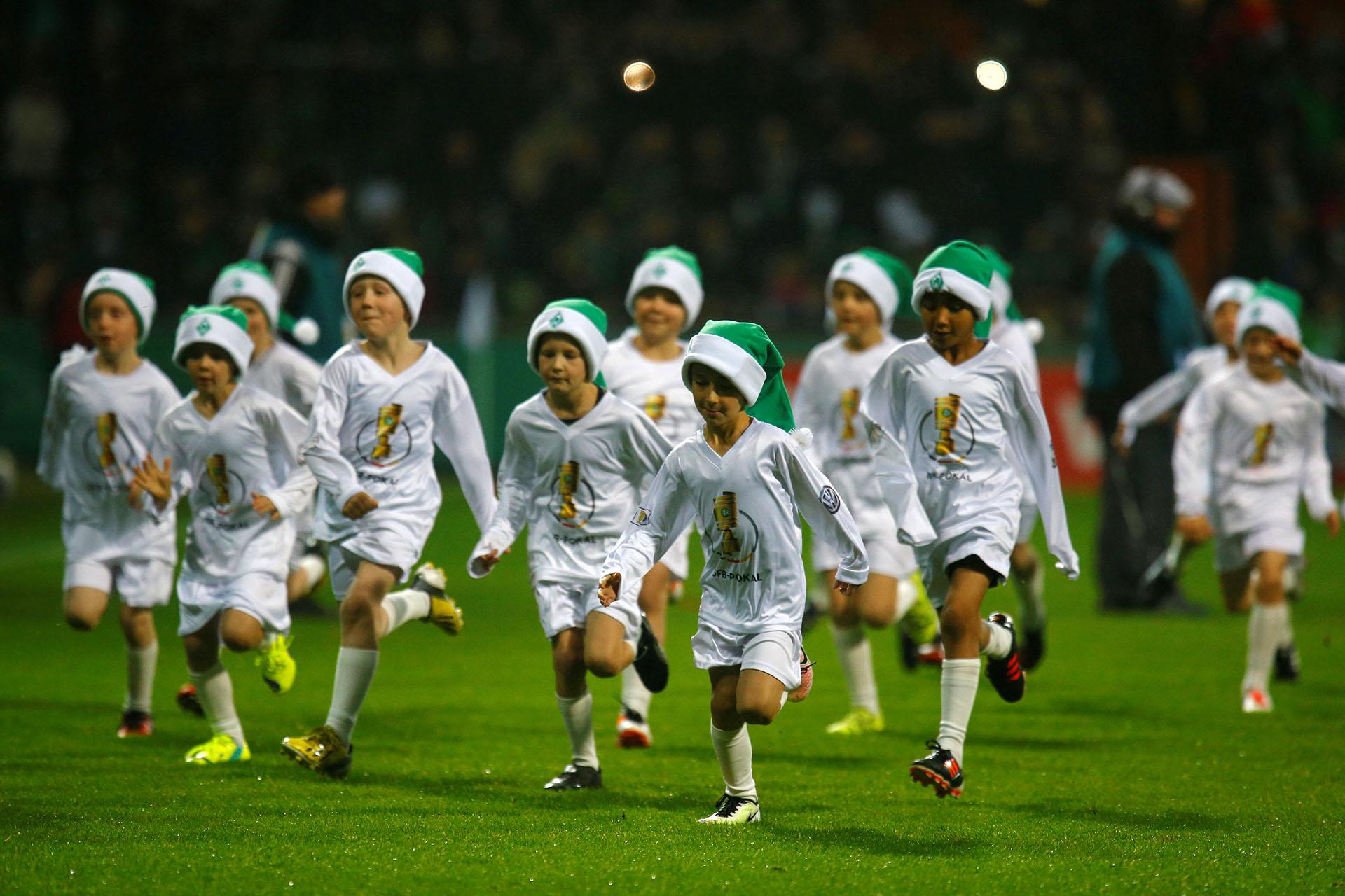 Un torneo de fútbol juvenil enBremen,Alemania, el 20 de diciembre de 2017.(Reuters)
