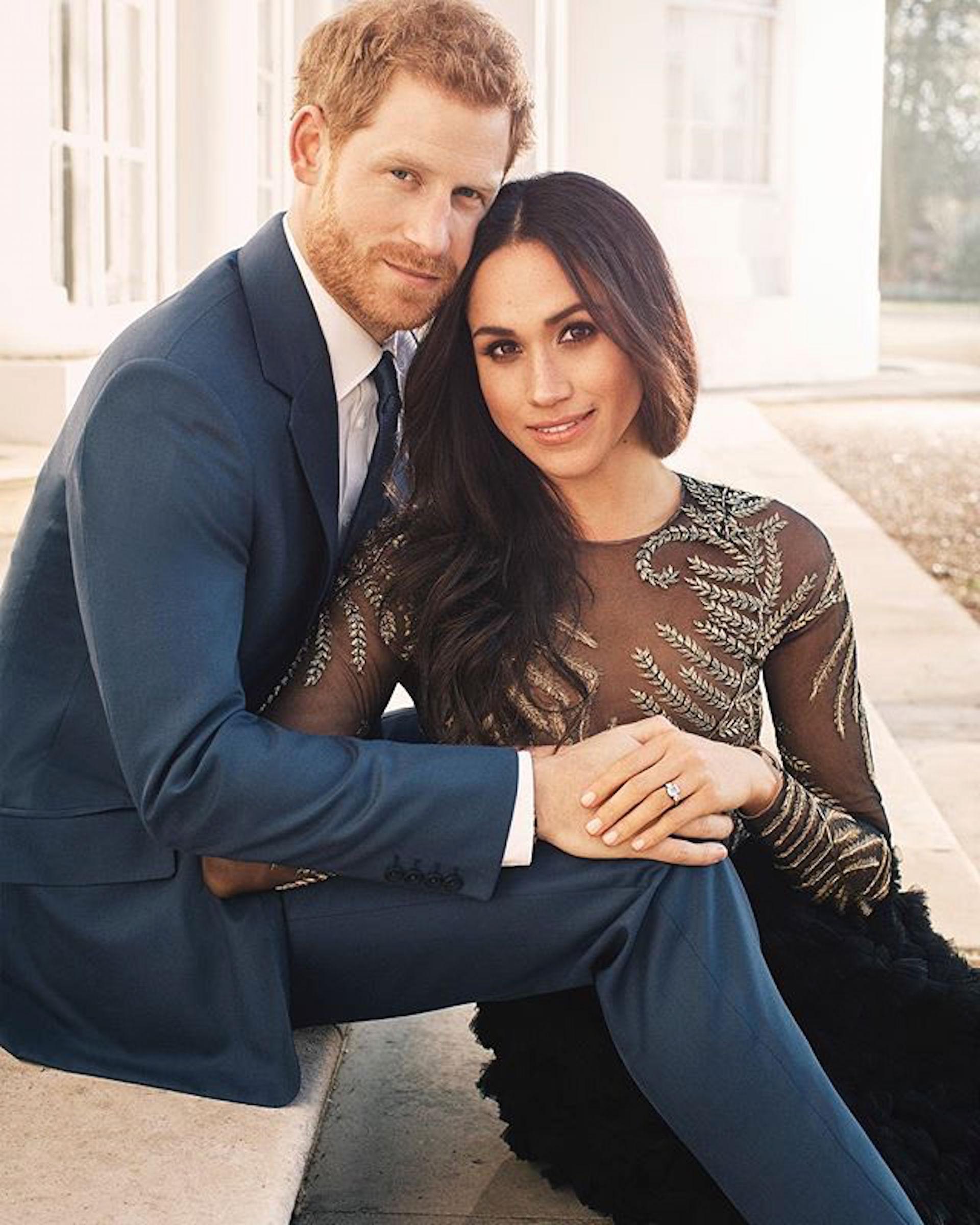 El príncipe Harry y Meghan Markle protagonistas de la última gran boda real de nuestra era.