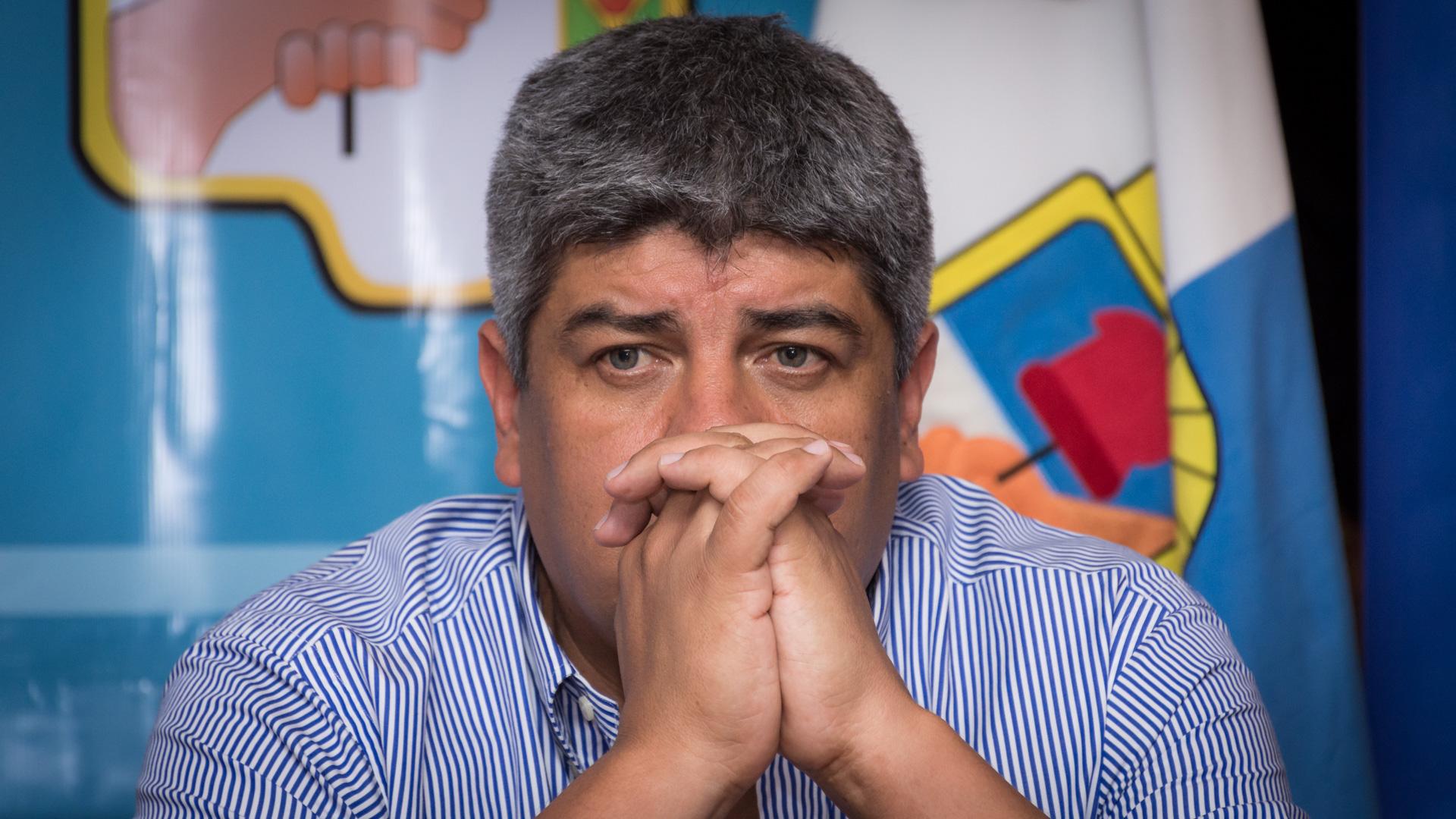 Pablo Moyano fue acusado por Bebote Álvarez (Foto: Martín Rosenzveig)