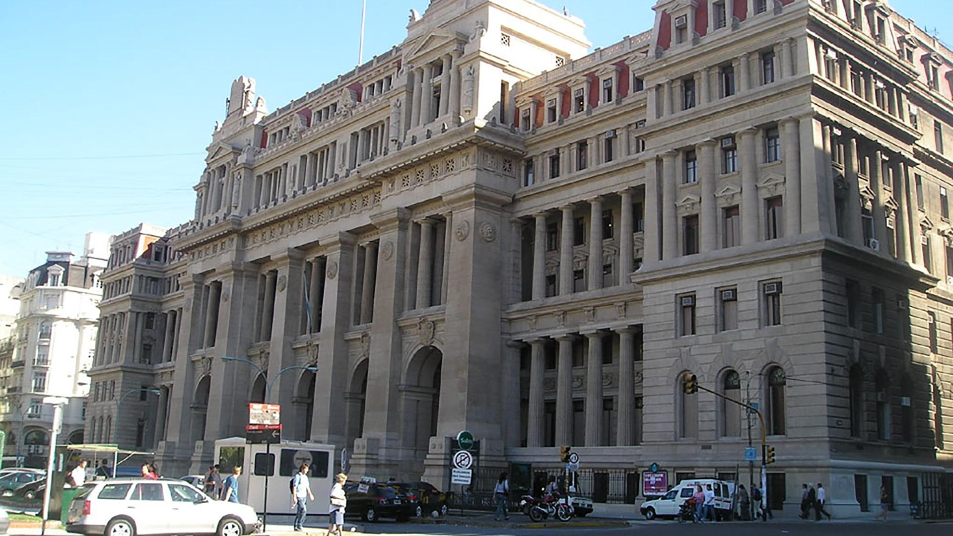 La sede de Tribunales en la ciudad de Buenos Aires