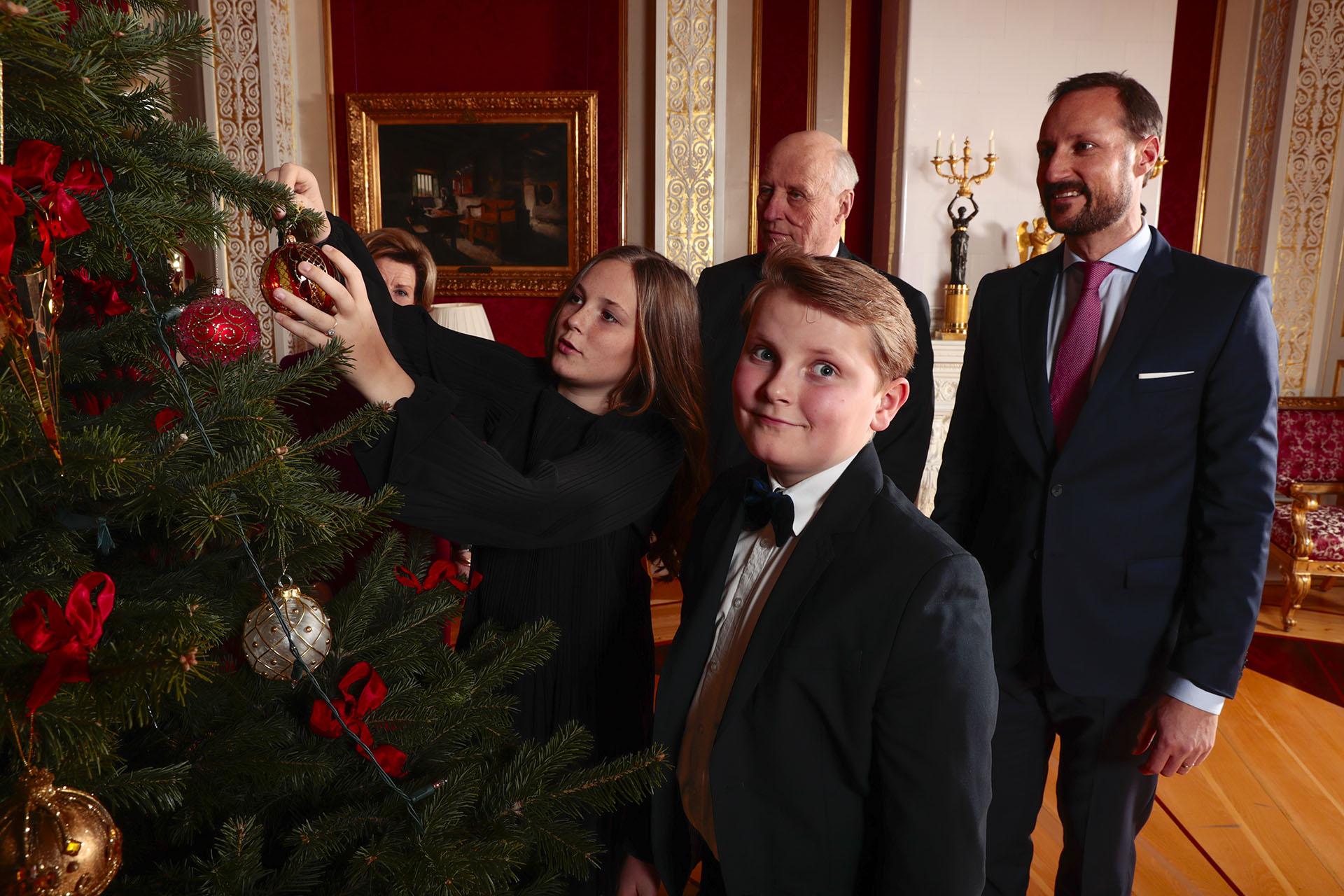 Máxima de Holanda y Pablo de Grecia son los padrinos del príncipe Sverre Magnus