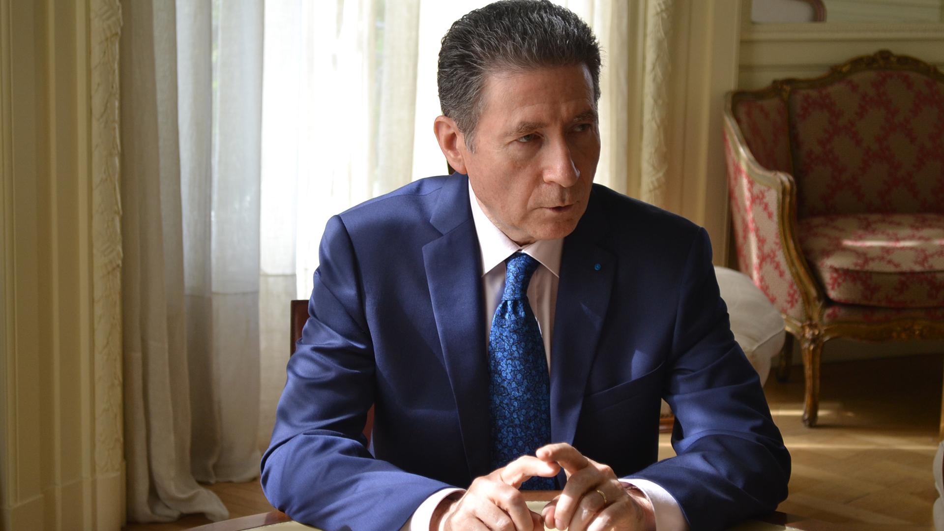 El embajador de Francia, Pierre Guignard