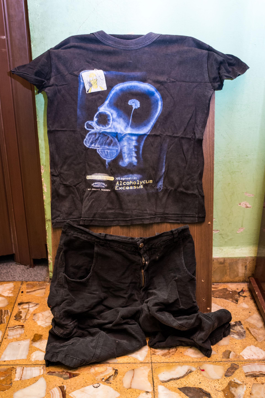 Esta es la ropa que usó para ir al recital