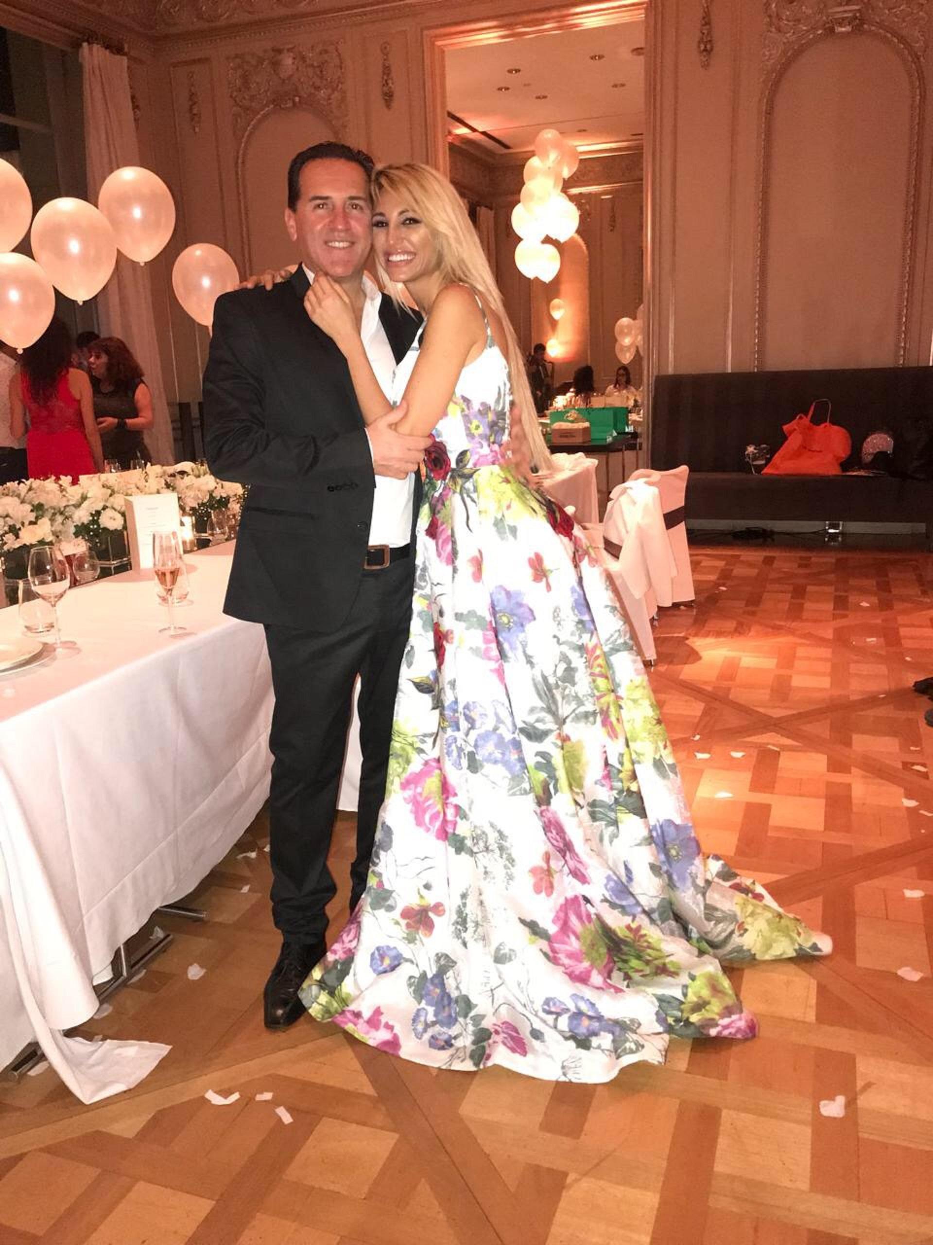 Victoria Xipolitakis y su novio Javier Naselli celebraron juntos el cumpleaños de la ex vedette