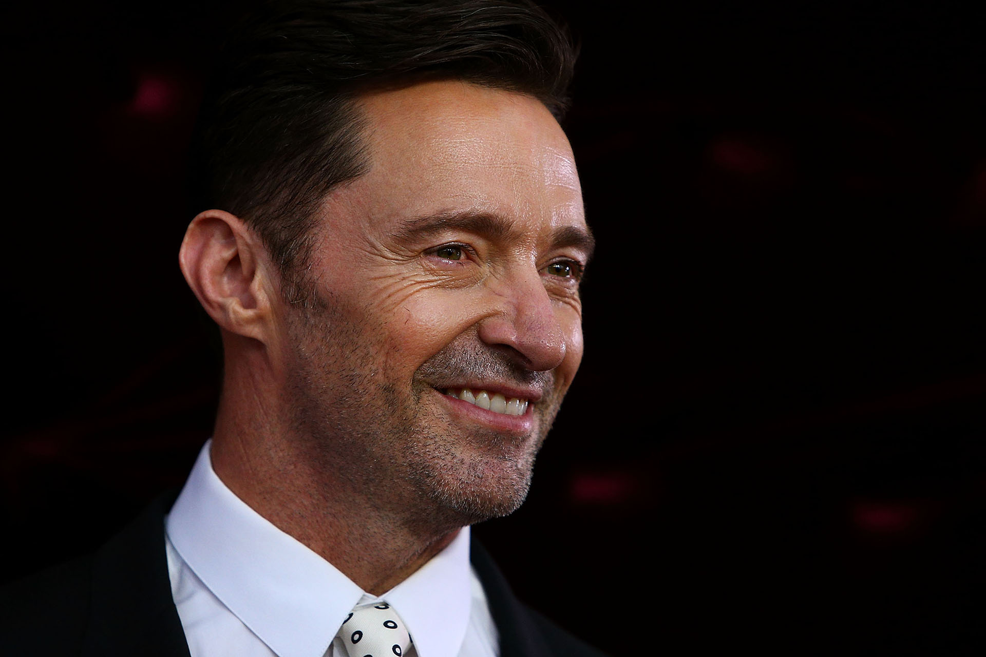 Hugh Jackman a su llegada a la red carpet de la premiere de The Greatest Showman, que se llevó a cabo en The Star, en Sydney