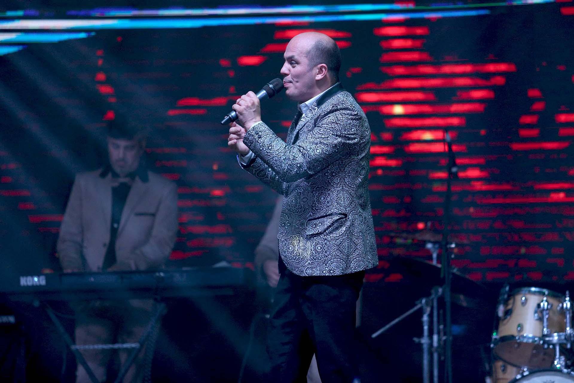 Ángel Carabajal, en Bien Argentino (Crédito: Mario Sar)