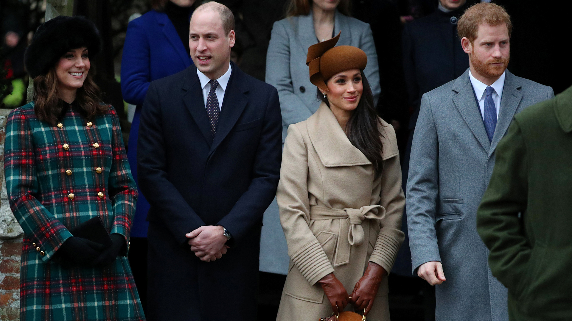Los Duques de Cambrigde -terceros en la línea de suceción al trono y los futuros Duques de Sussex