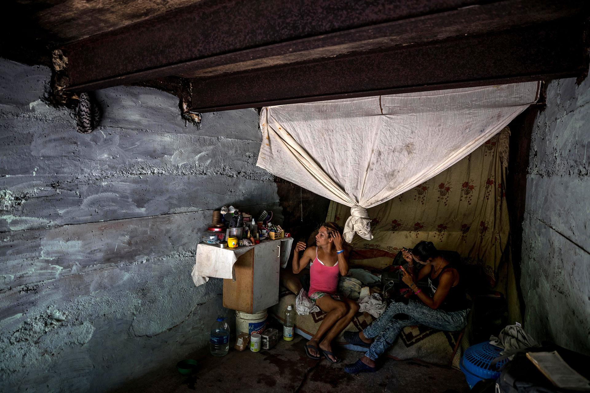 La severa crisis económica y social de Venezuela ha modificado los paisajes de la capital (EFE)
