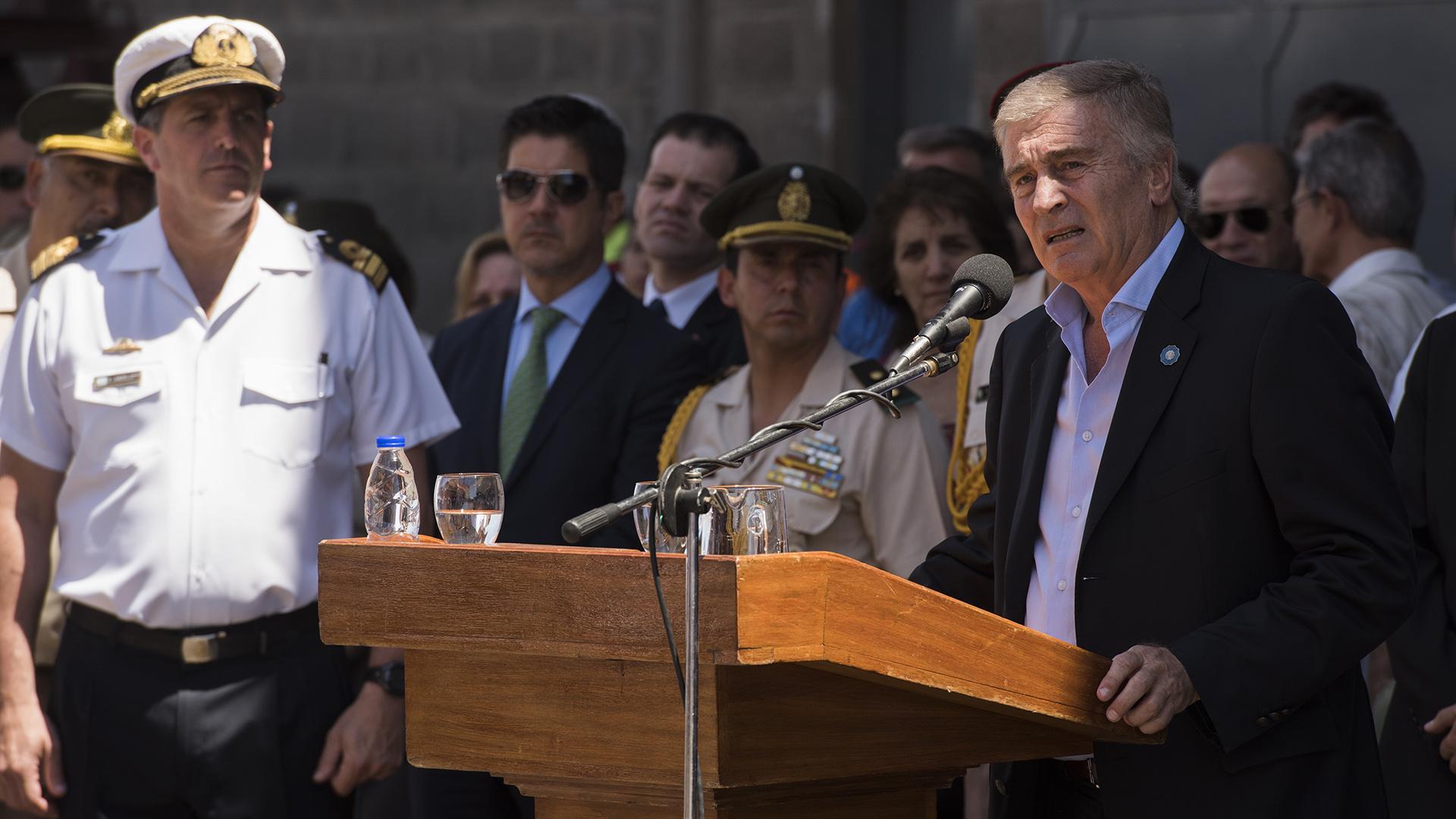 Oscar Aguad, ministro de Defensa (Adrián Escandar)