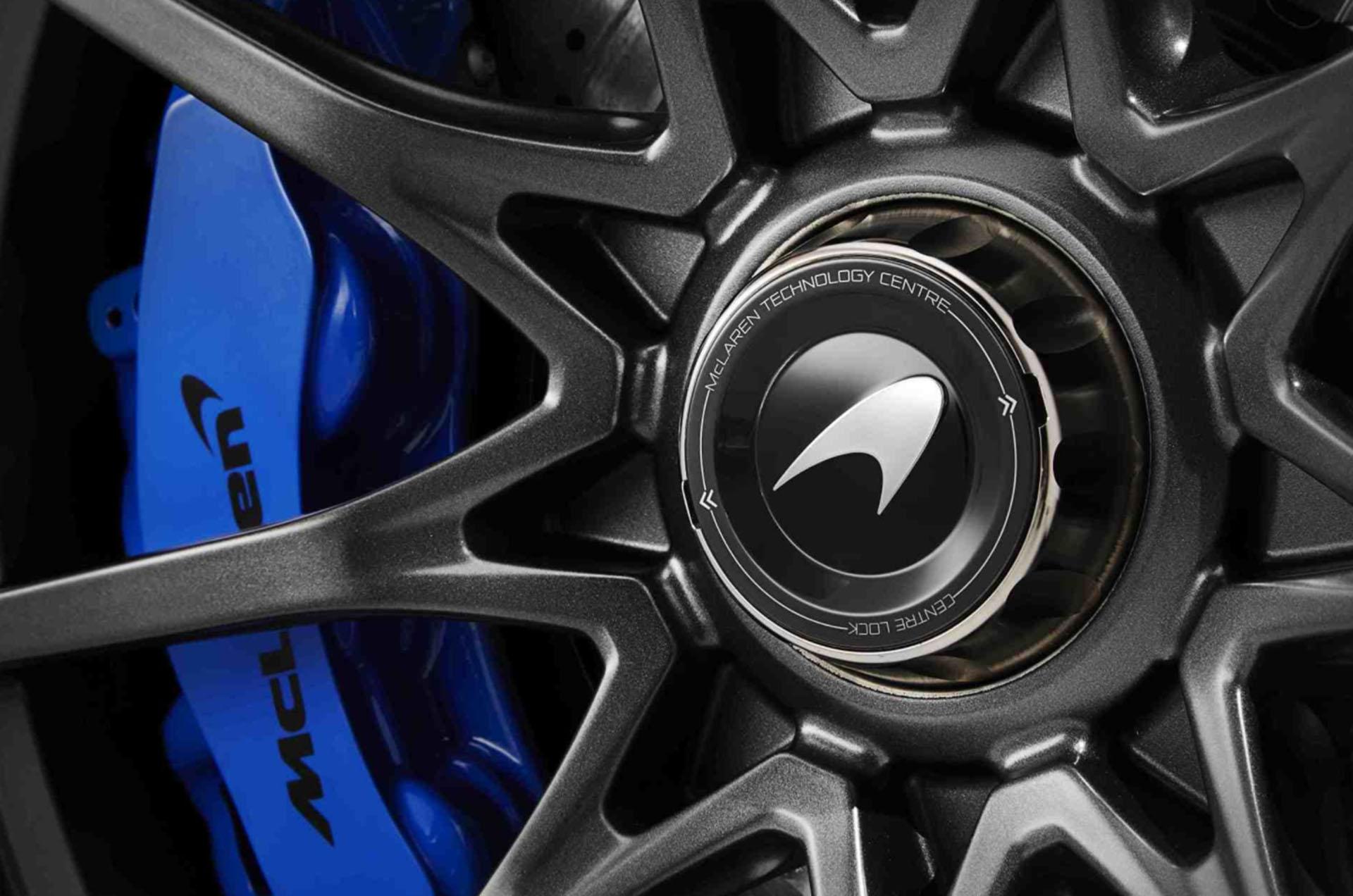 Los discos de freno fueron construidos en cerámica porque resultan más resistentes a la fricción. Mientras que los neumáticos fueron diseñados exclusivamente por Pirelli para mover al Senna