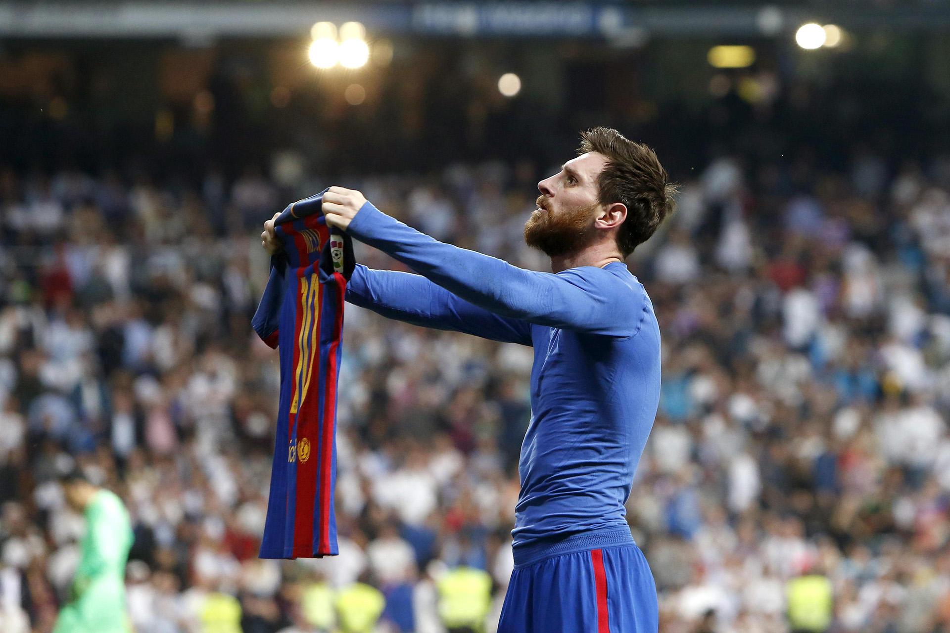 Messi le gana el clásico al Real Madrid