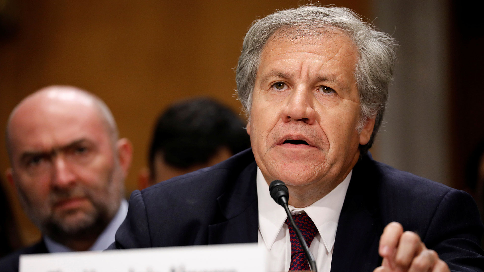 Luis Almagro, secretario general de la OEA (Reuters)