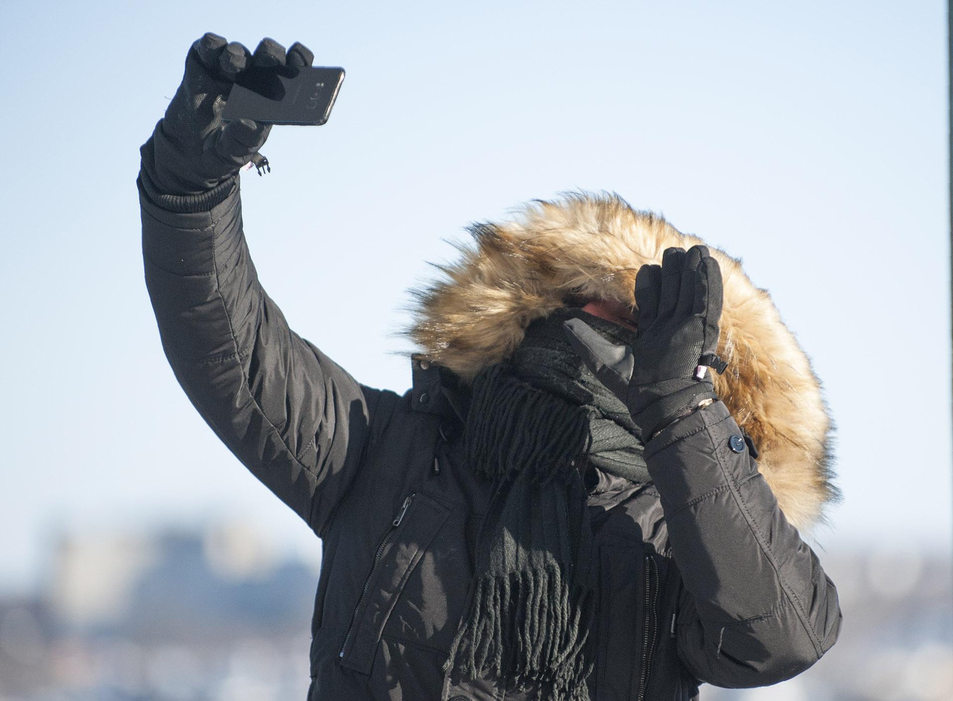 Las autoridades de Canadá y EEUU emitieron el estado de alerta por las bajas temperaturas (AFP)