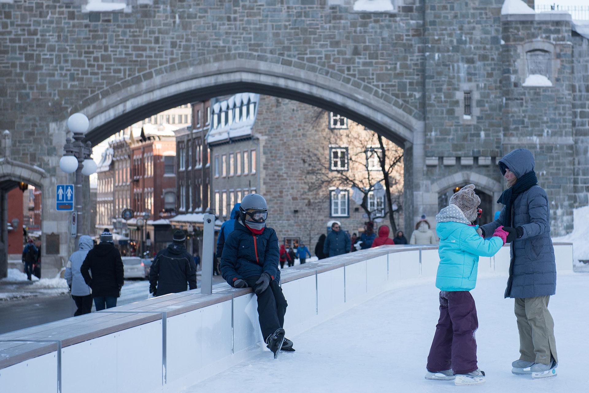También hubo fuertes nevadas (AFP)