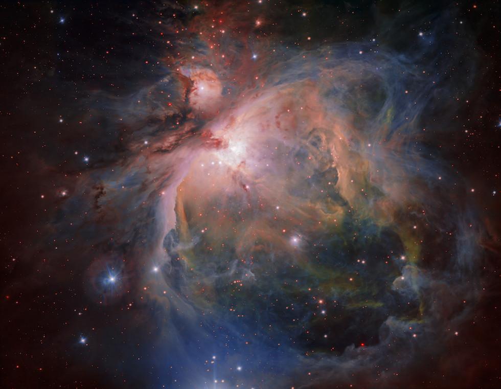 La Nebulosa de Orion (ESO)