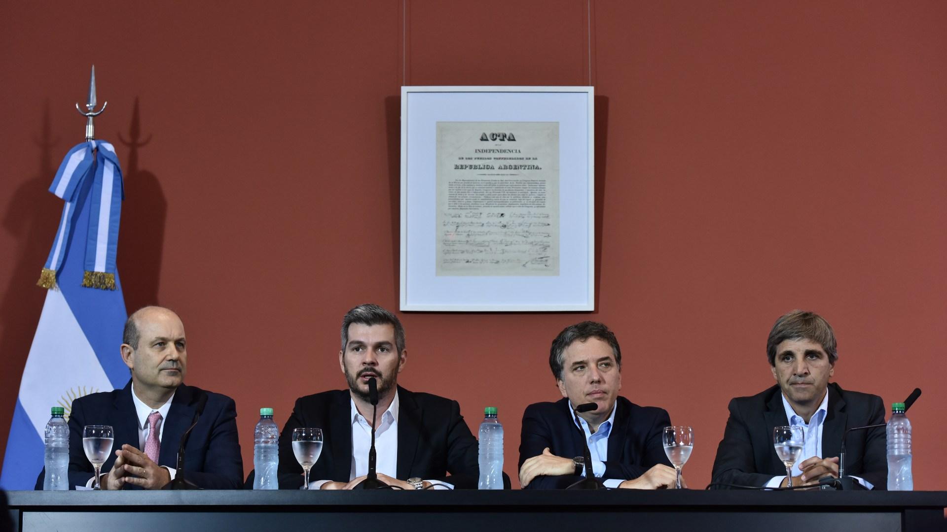La conferencia de prensa del 28 de diciembre de 2017 fue para muchos uno de la disparadora de la crisis de 2018 (Adrián Escándar)