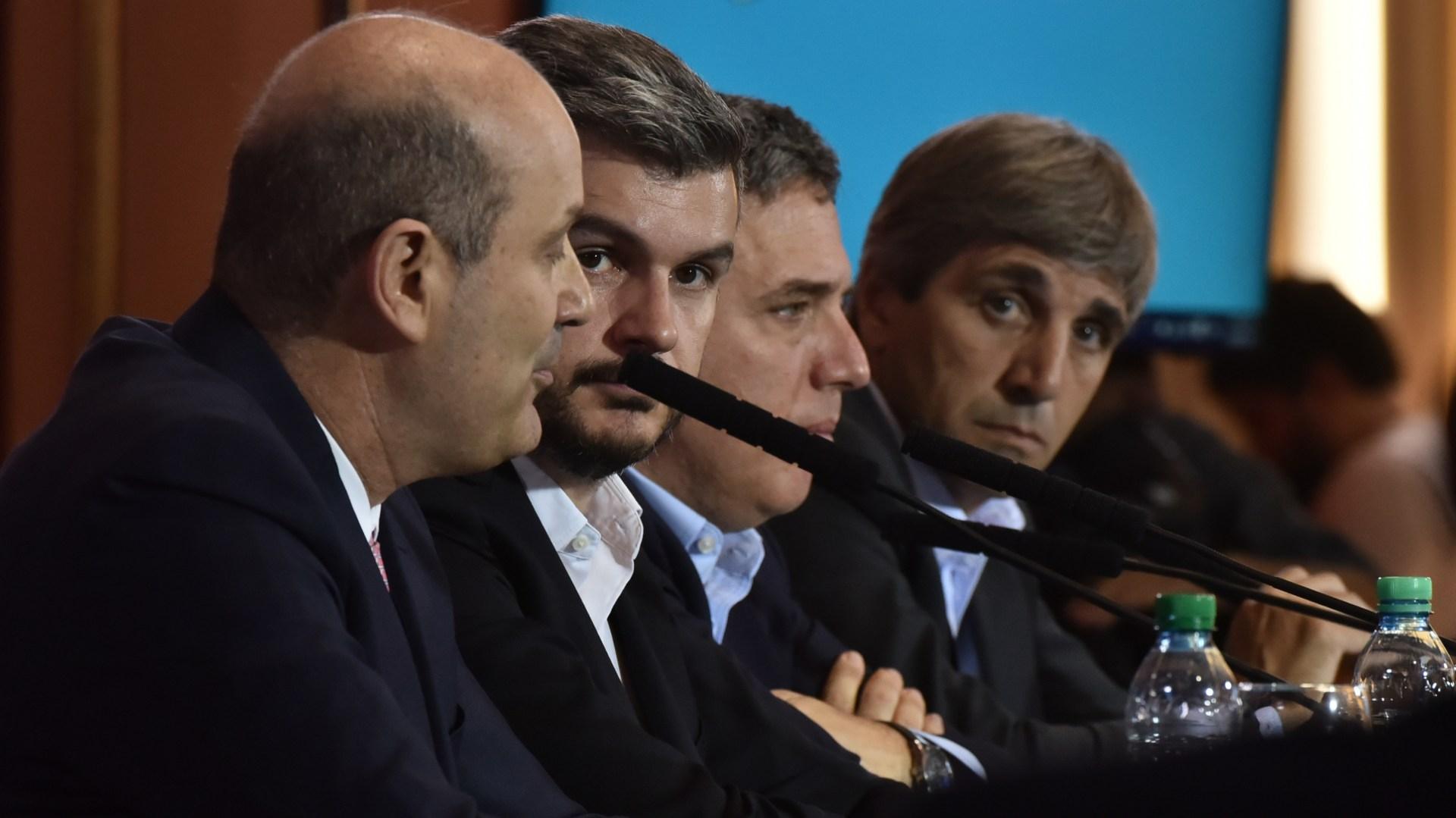 La famosa conferencia de prensa del 28 de diciembre de 2017 (Adrián Escandar)