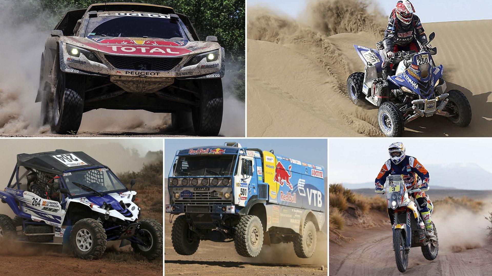 Dakar Vehiculos partida 281217