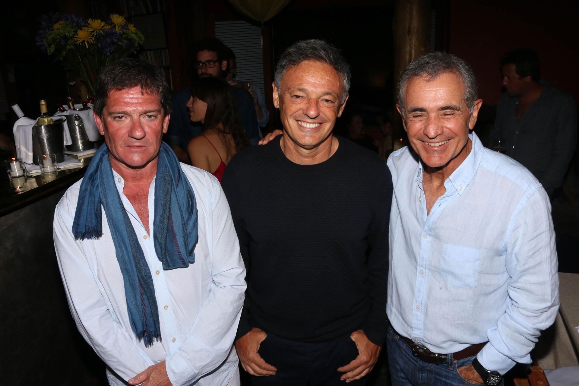 Pablo Bordeu, Pancho Cabrera y Manuel Antelo.