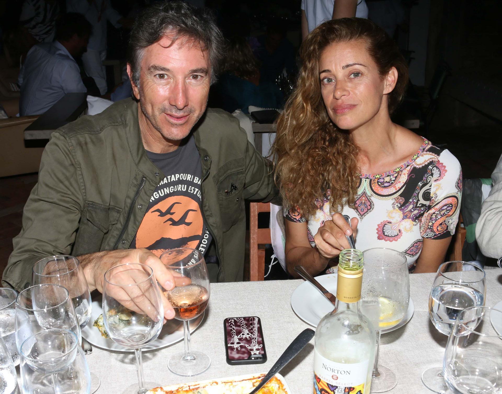 Pablo Roemmers y Gerogina Alliata.
