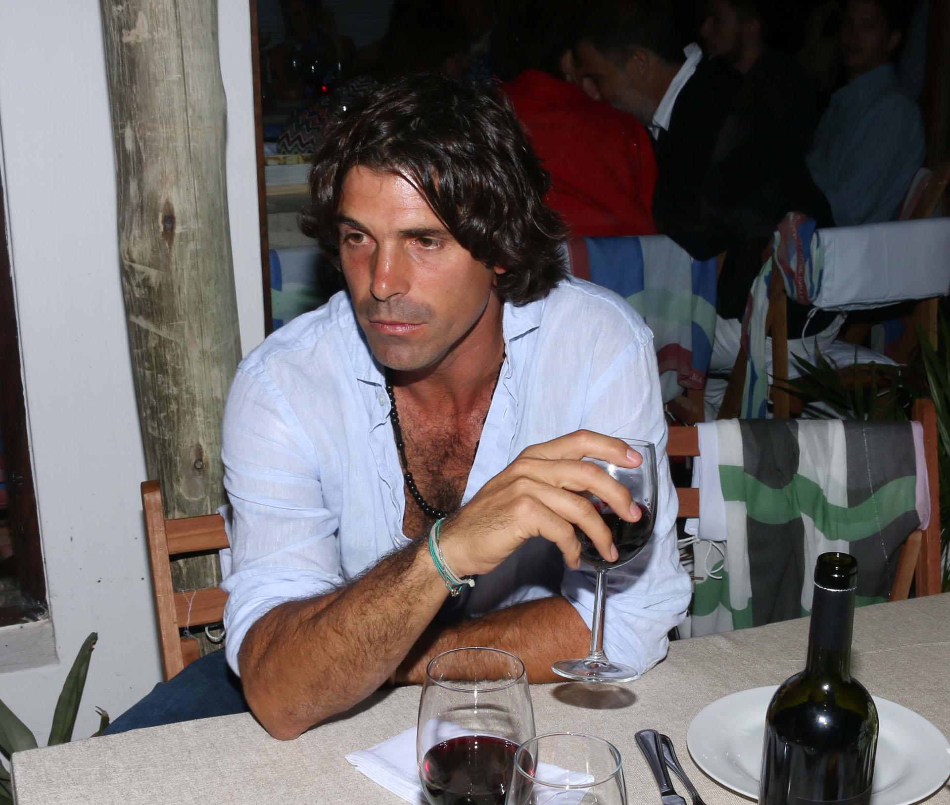 El polista y modelo Nacho Figueras.