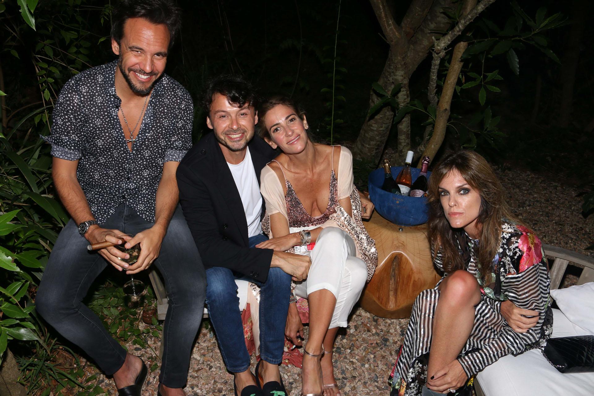 Chule Bernardo, Wally Diamante, Puli de Maria y Agustina Aguilar.