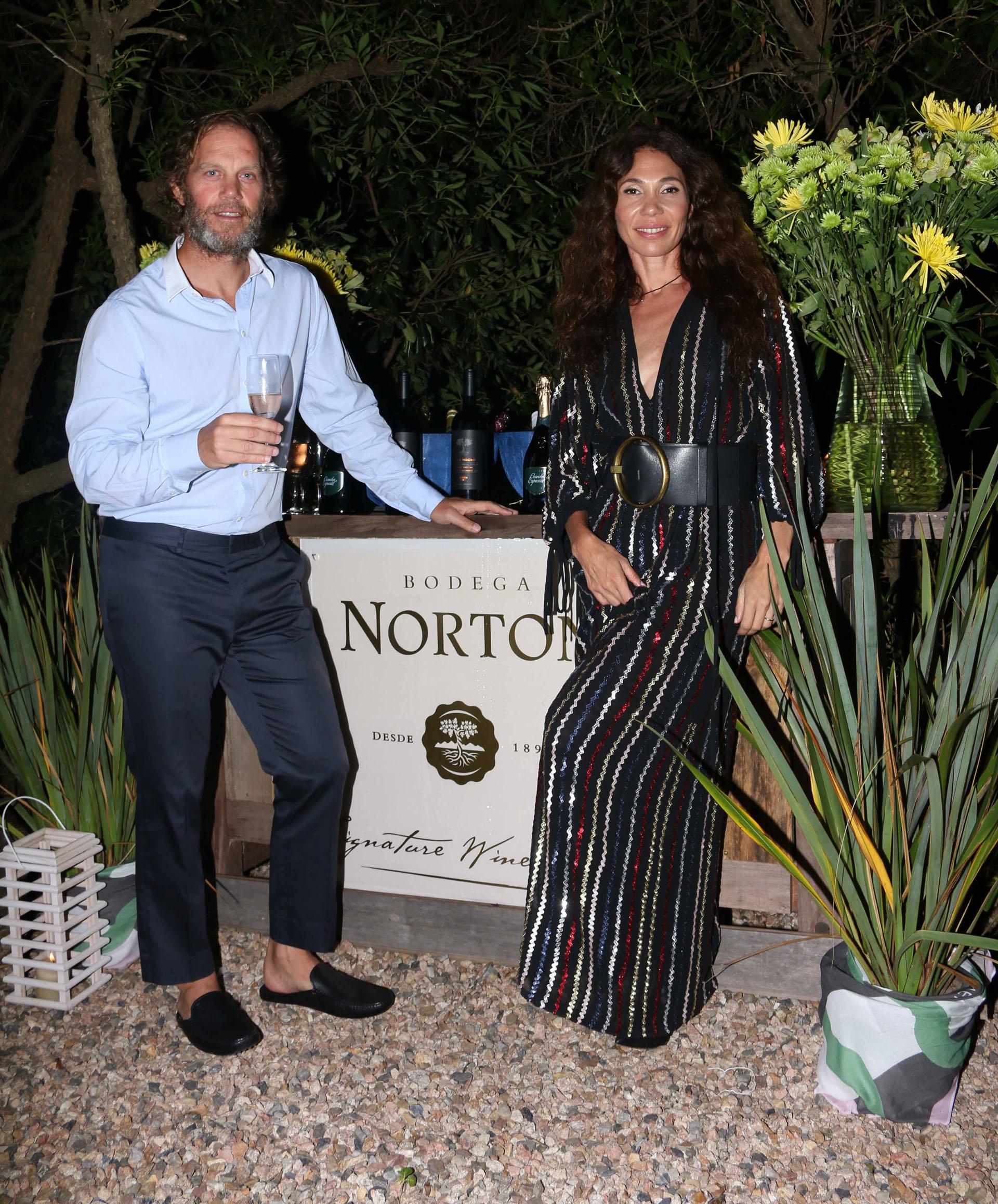 Gabriel Brener y María Cher.