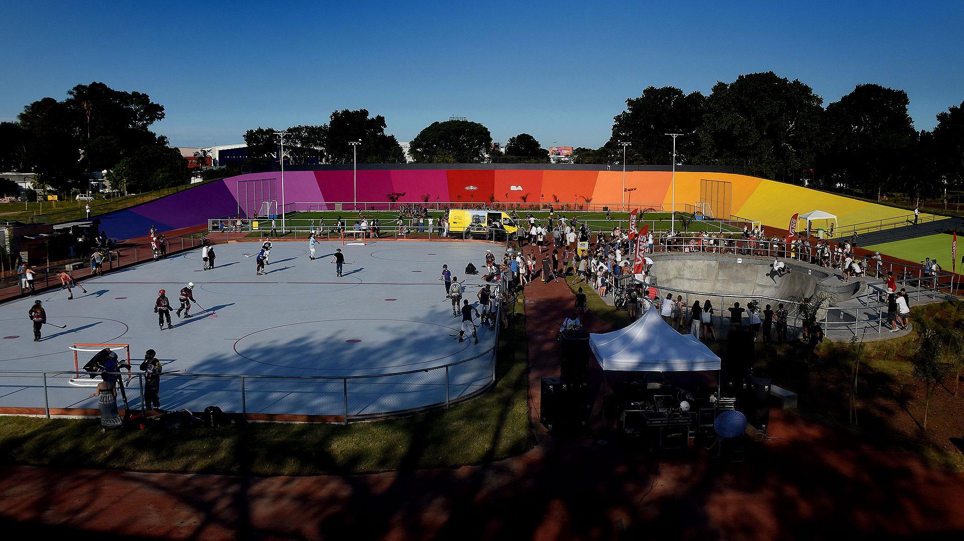 La Ciudad presentó un renovado predio deportivo que reemplaza al histórico ex Velódromo