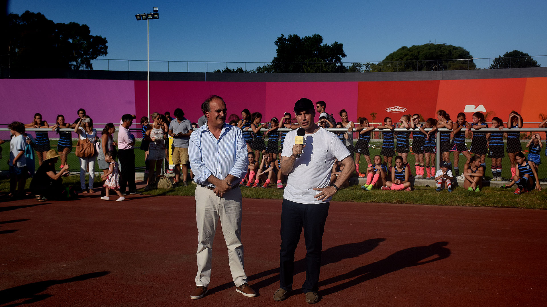 Rodríguez Larreta y Macchiavelli fueron los encargados de orar en la apertura oficial