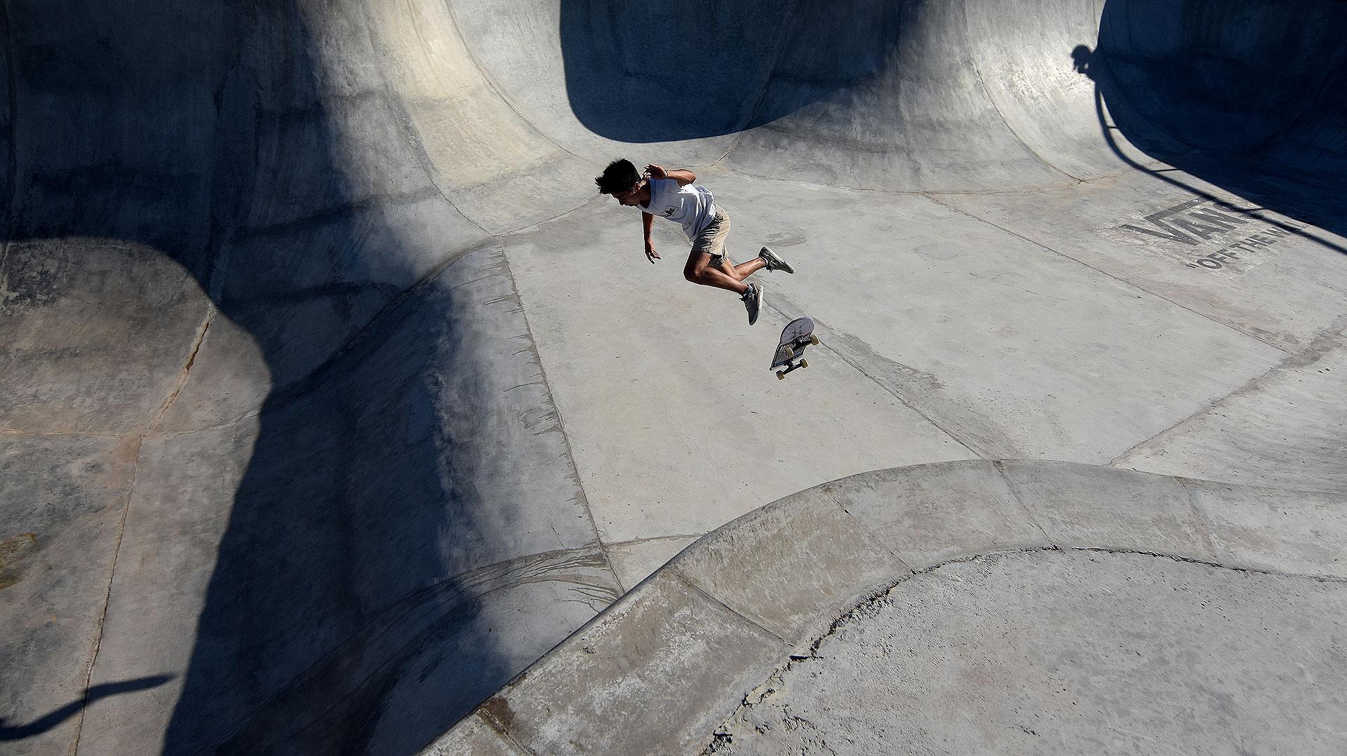 El parque de skate se suma a los cinco que ya existen en la Ciudad, en los barrios de Belgrano, Caballito, Mataderos, Palermo y Villa Lugano