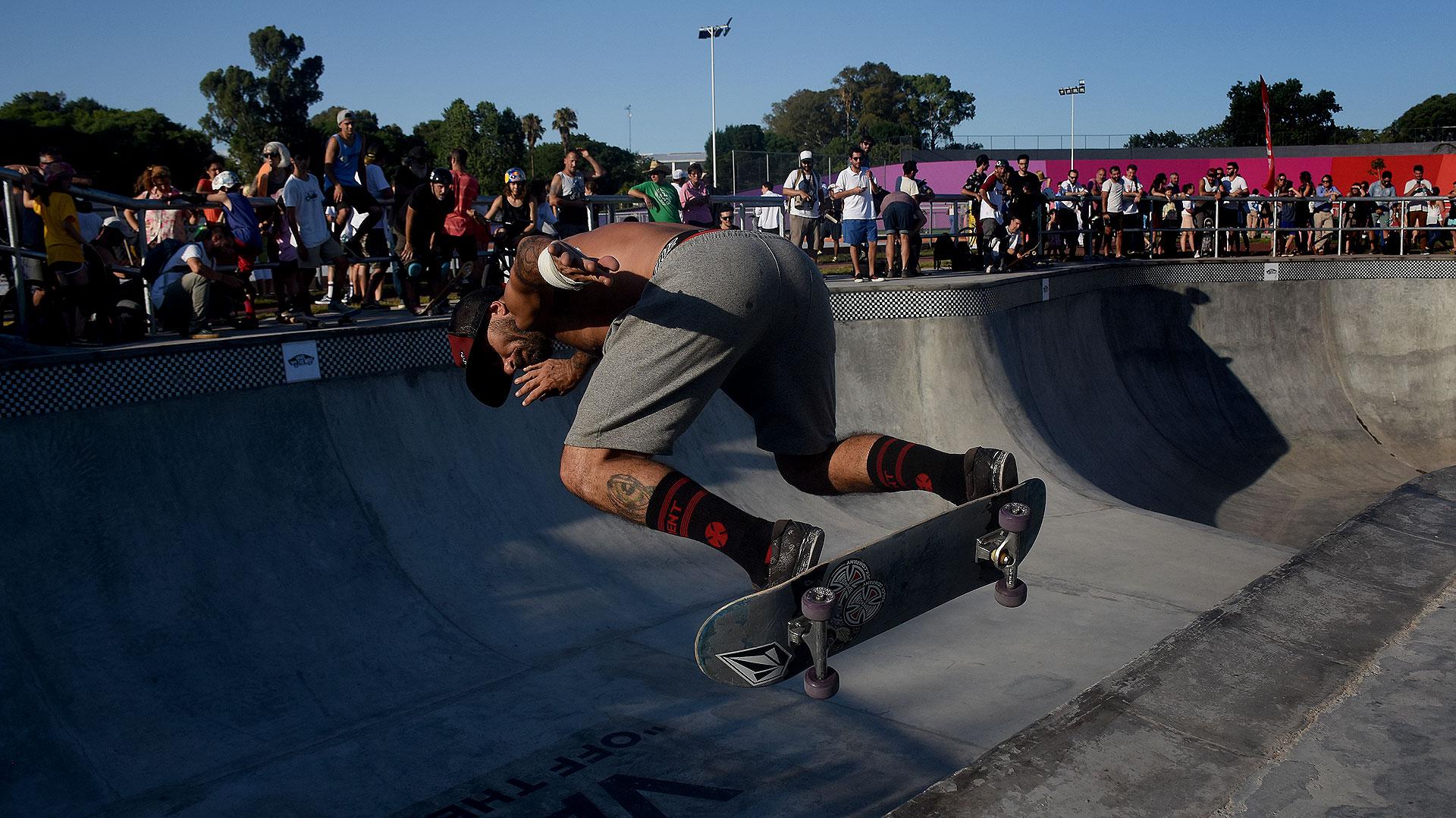 Se trata del primer superpark de Argentina para la práctica profesional del skate, tanto para entrenamiento pre-olímpico como campeonatos mundiales